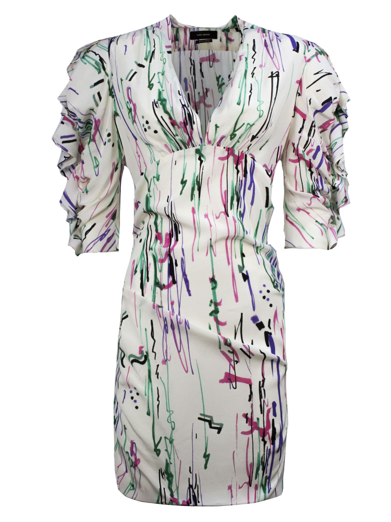 Buy Isabel Marant White Silk Dress online, shop Isabel Marant with free shipping