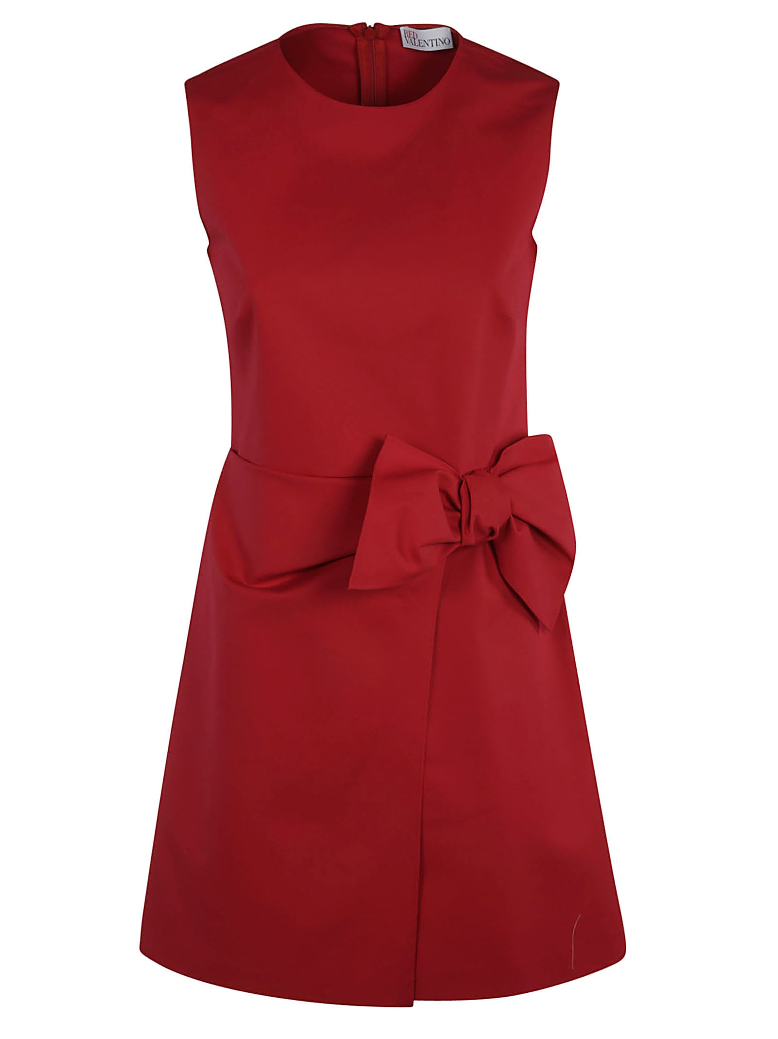 Buy RED Valentino Bow-detail Sleeveless Dress online, shop RED Valentino with free shipping