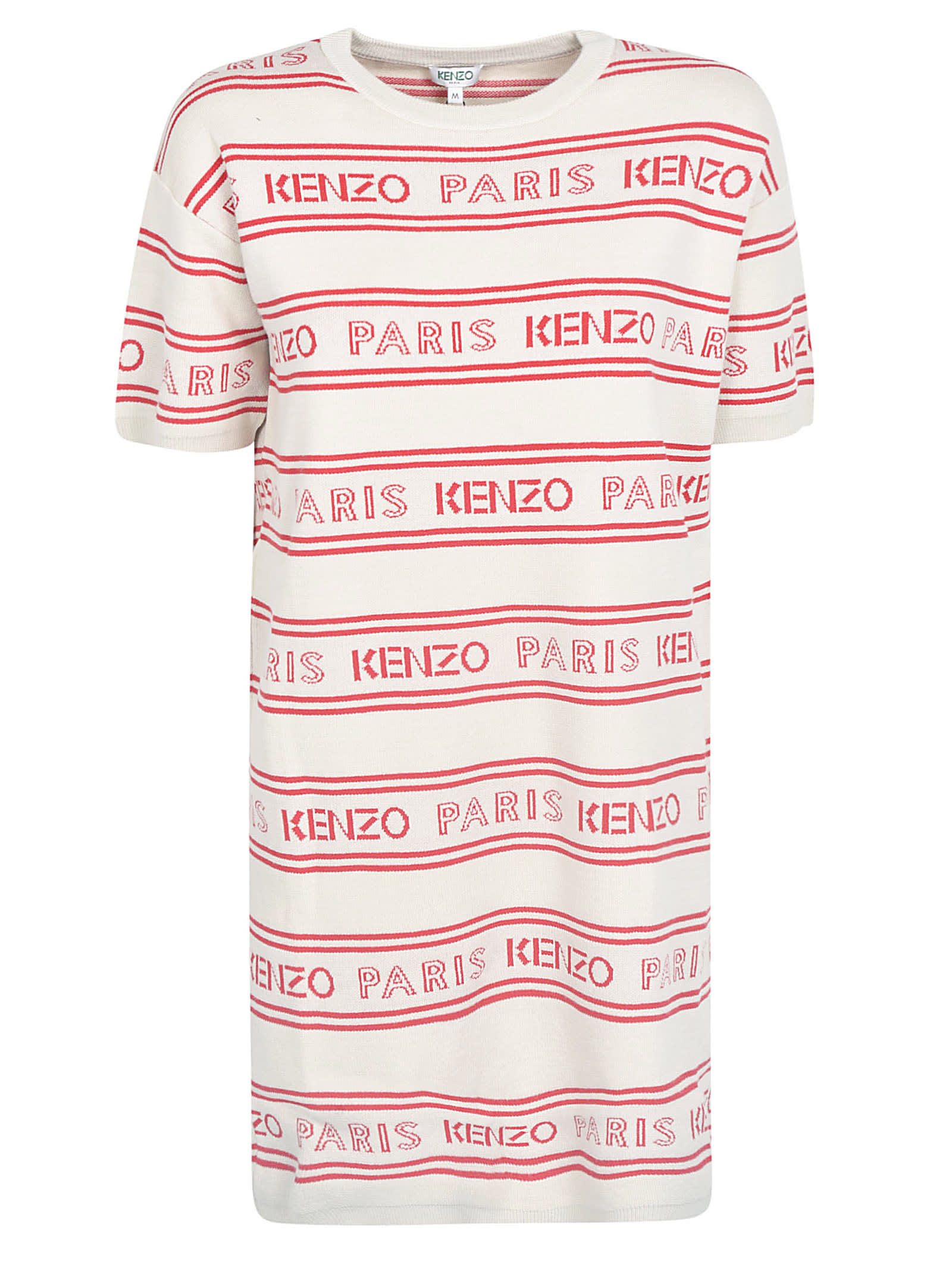 Buy Kenzo Logo All-over Dress online, shop Kenzo with free shipping