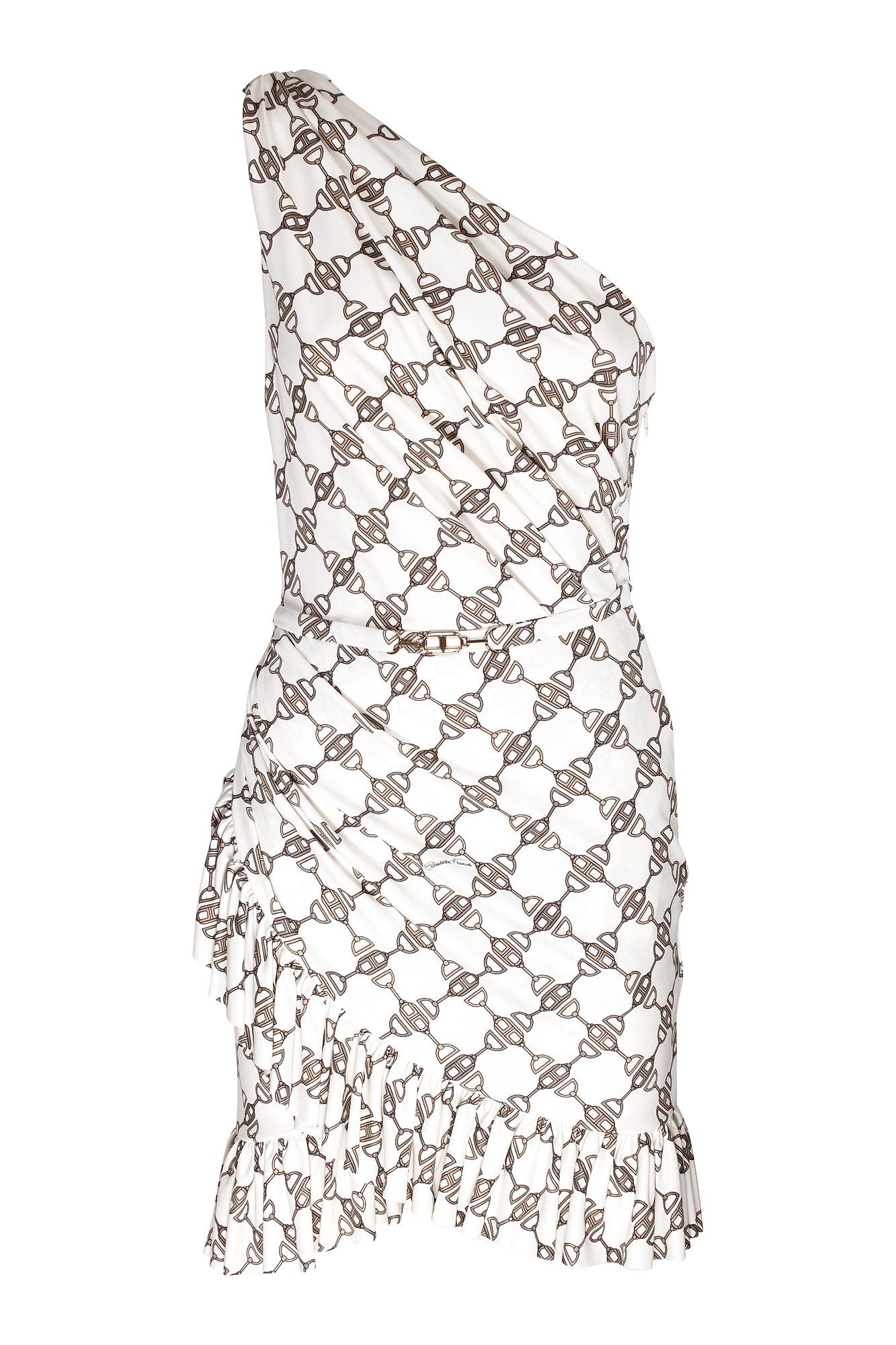 Elisabetta Franchi Celyn B. Dresses ONE-SHOULDER DRESS