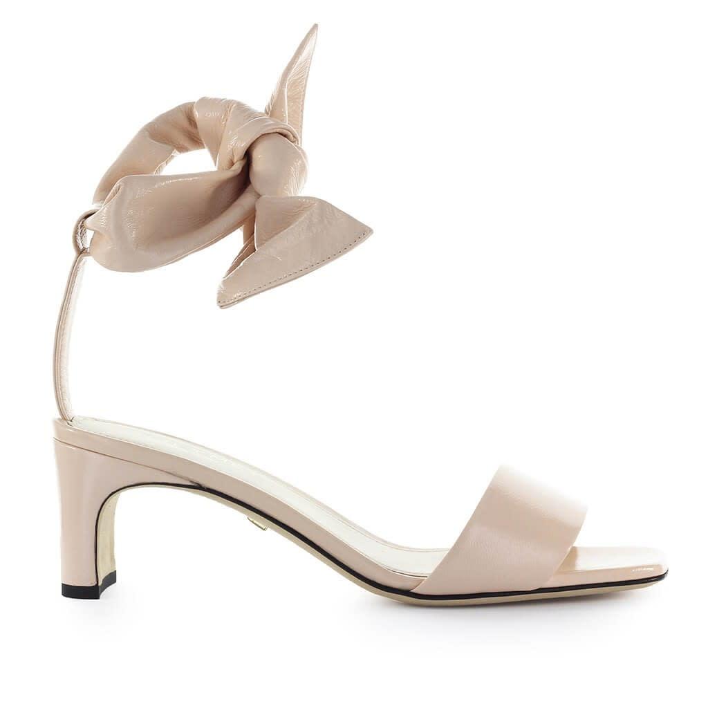 Ivy Pink Leather Sandal