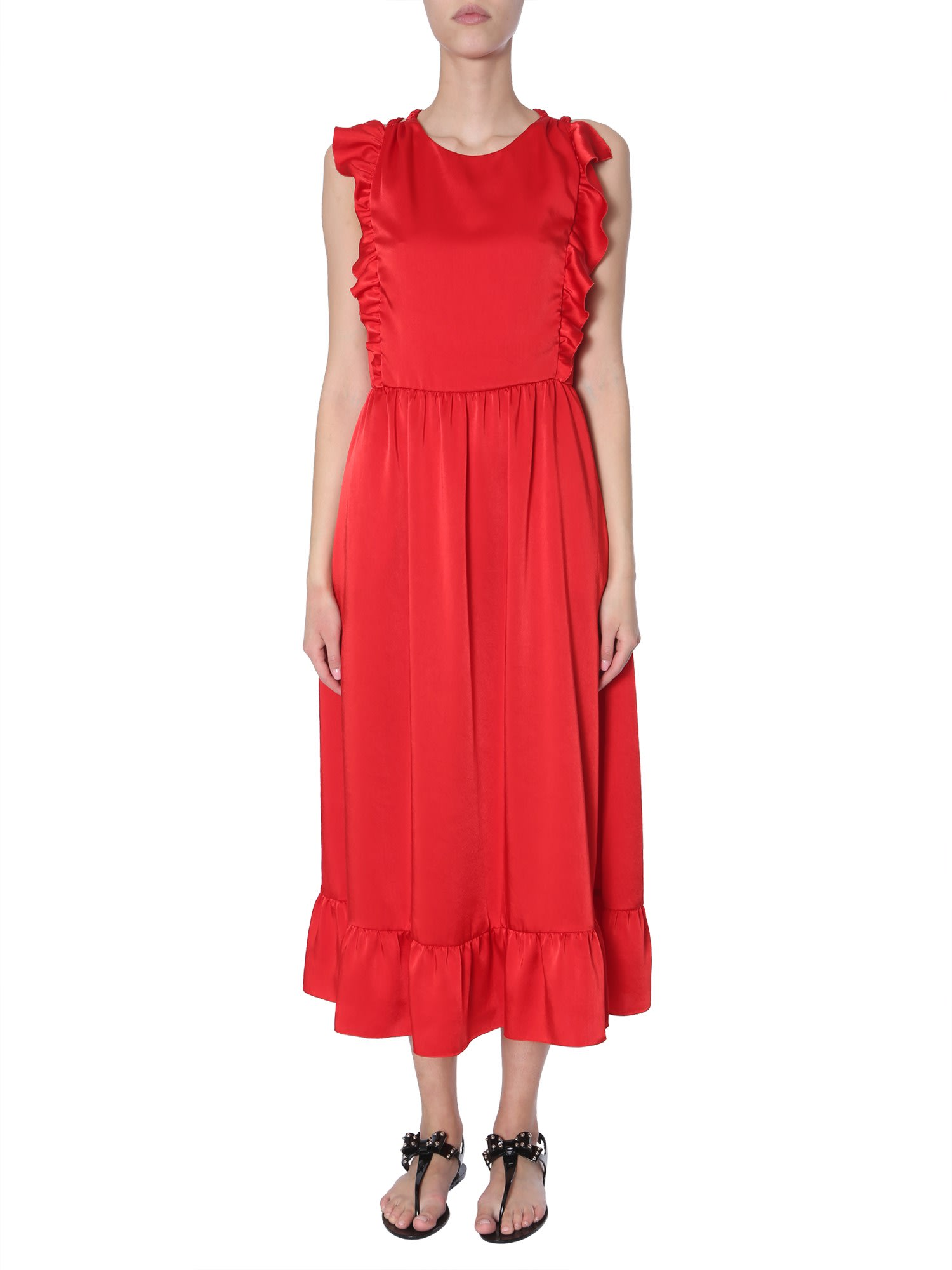 RED Valentino Stretch Compact Poplin Dress