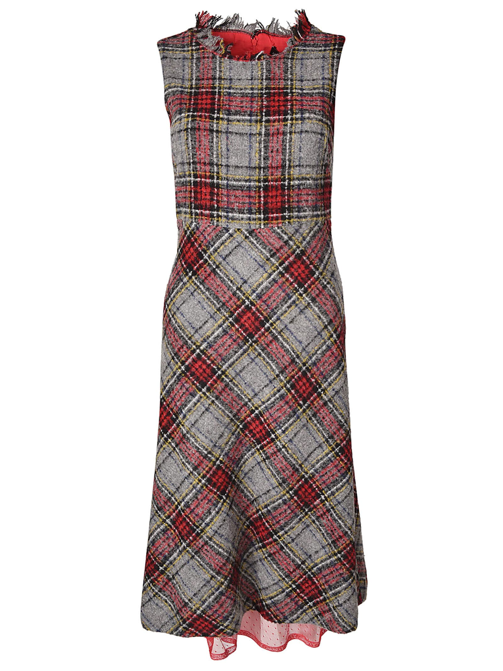 Ermanno Ermanno Scervino Checked Dress