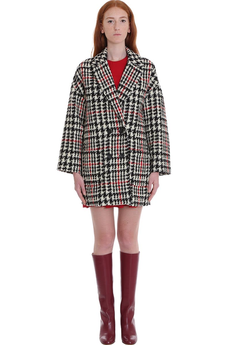 RED Valentino Coat In White Wool