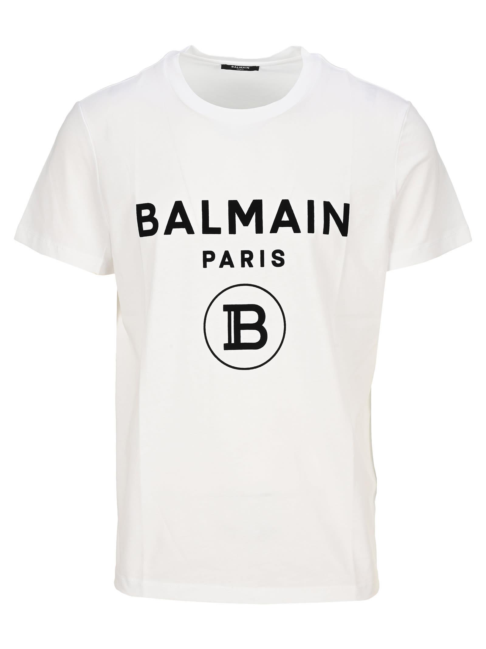 Balmain Cottons T-SHIRT FLOCK