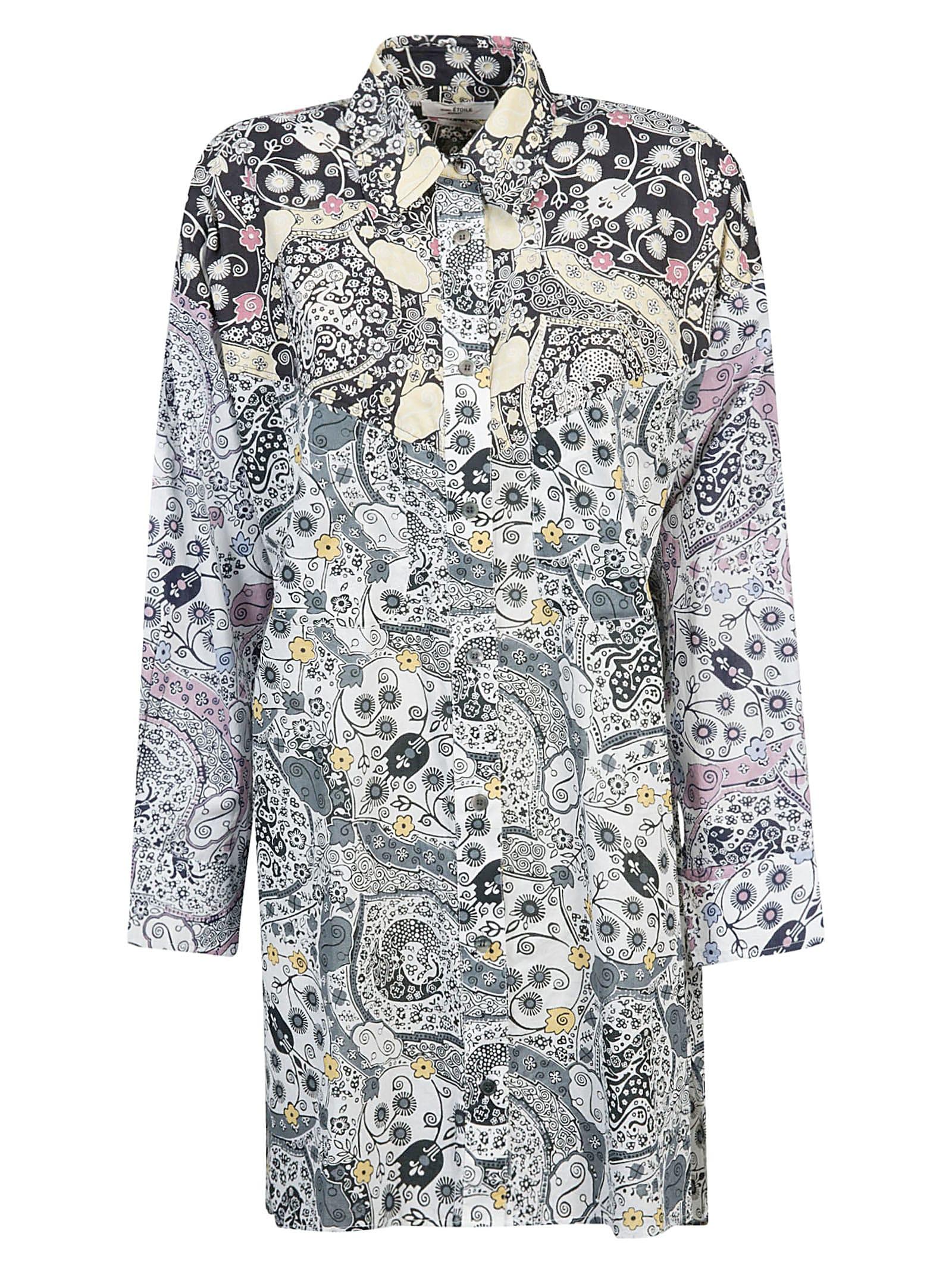 Buy Isabel Marant Étoile Abstract Print Dress online, shop Isabel Marant Étoile with free shipping