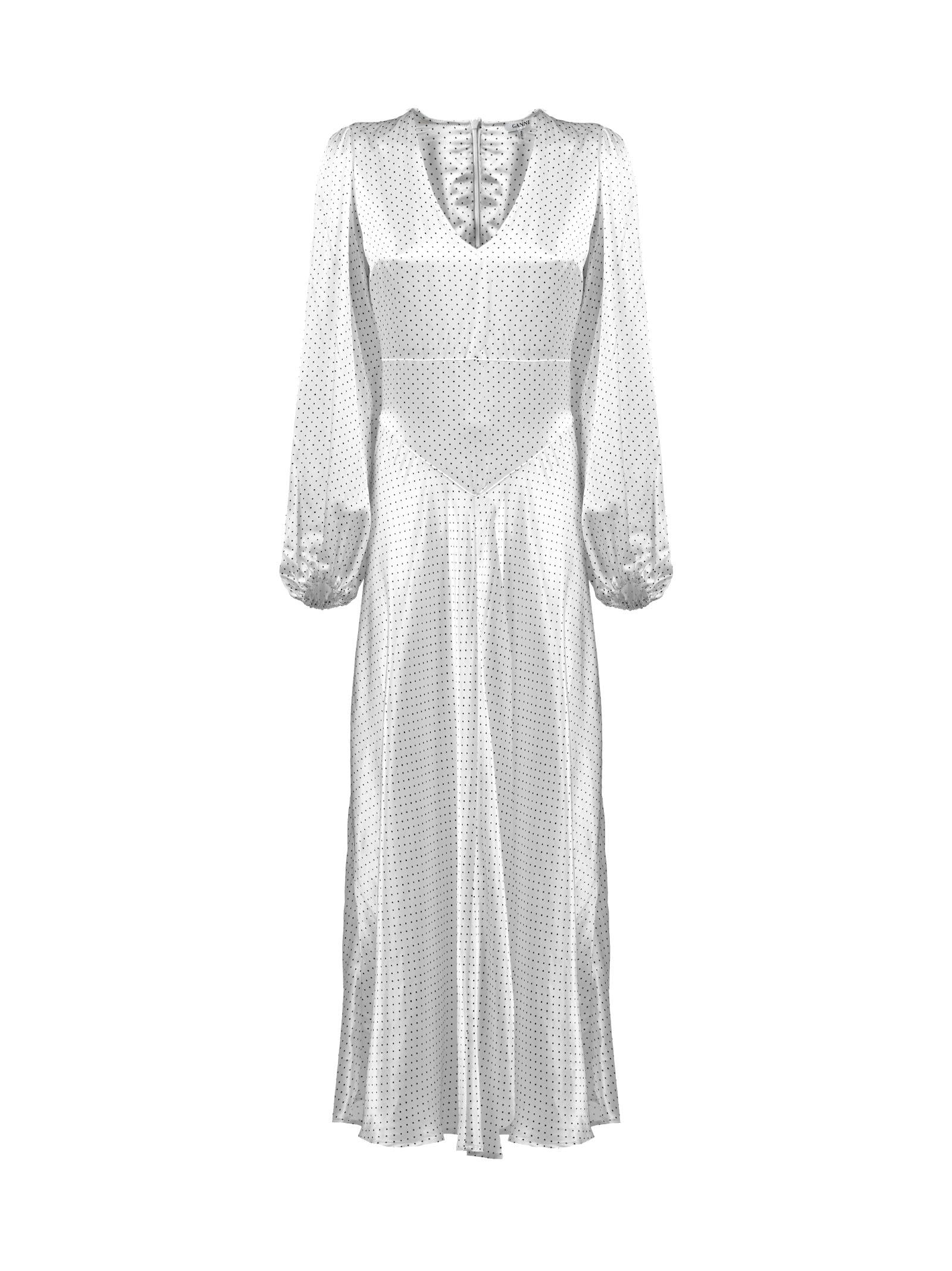 Buy Ganni Cameron Dress online, shop Ganni with free shipping
