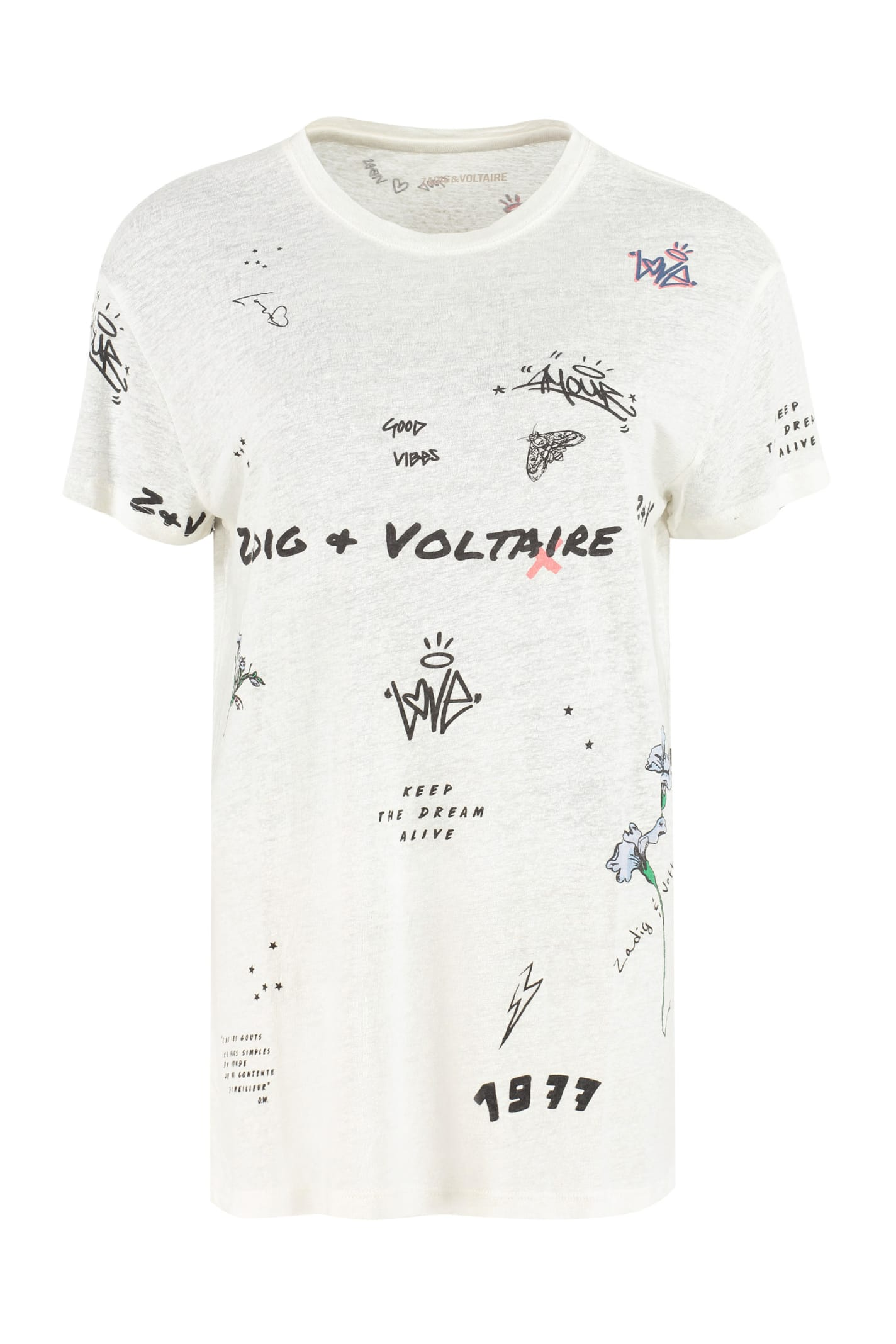 Zadig & Voltaire PRINTED T-SHIRT