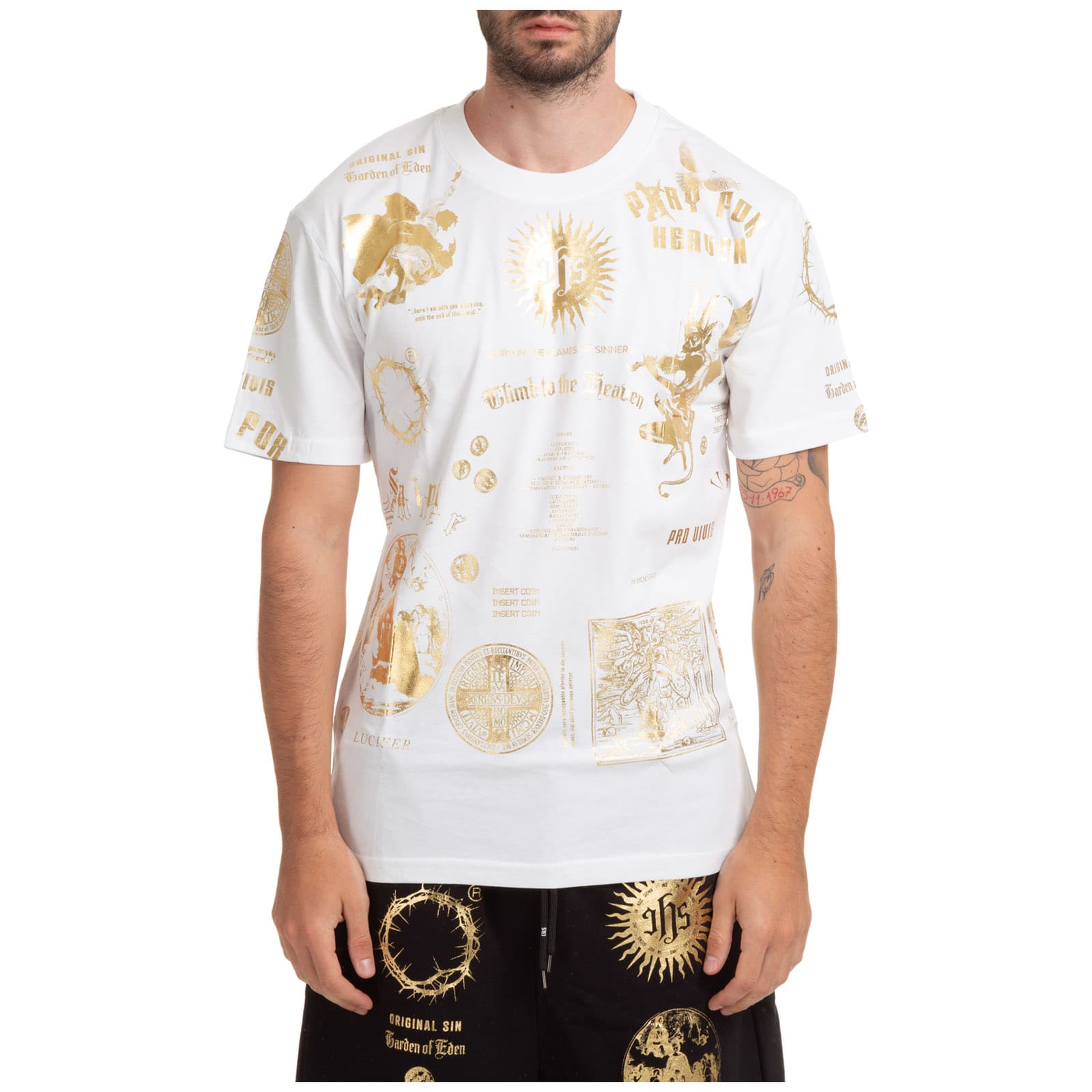 Reflective Flames T-shirt