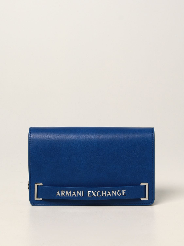 Armani Exchange Crossbody Bags Armani Exchange Shoulder Bag In Synthetic Leather With Logo