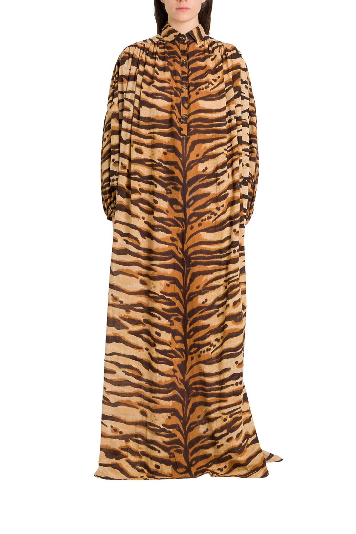 Buy Mes Demoiselles Bangla Tiger Dress online, shop Mes Demoiselles with free shipping