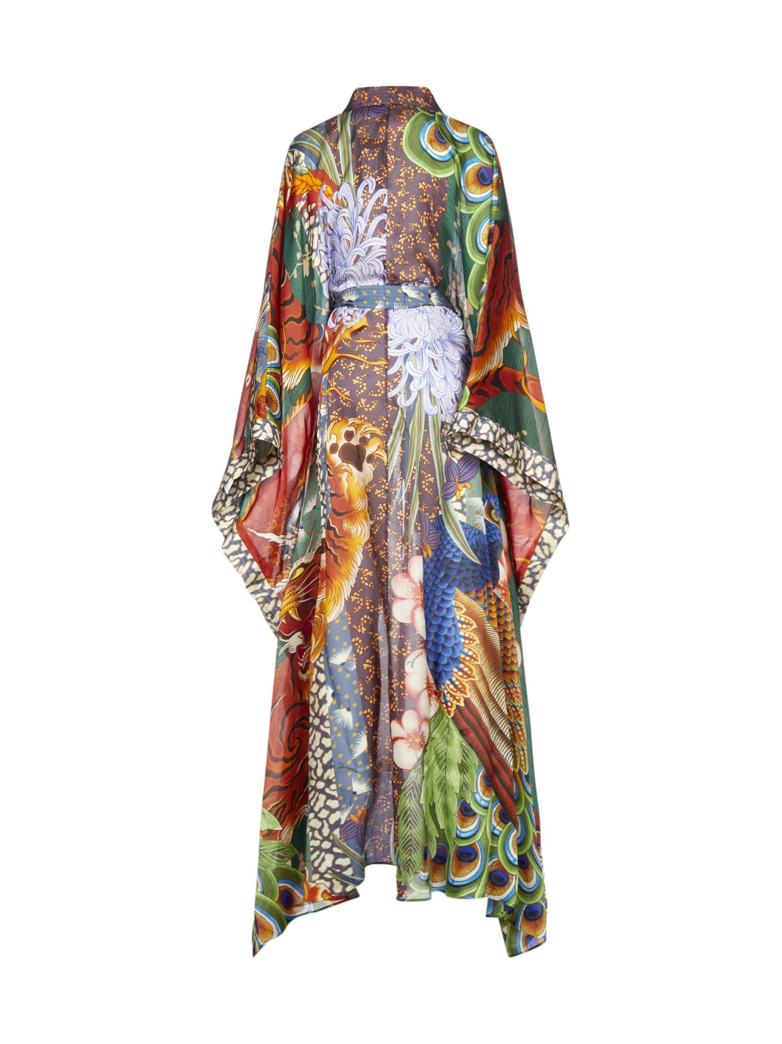 Buy Dsquared2 Printed Dress online, shop Dsquared2 with free shipping
