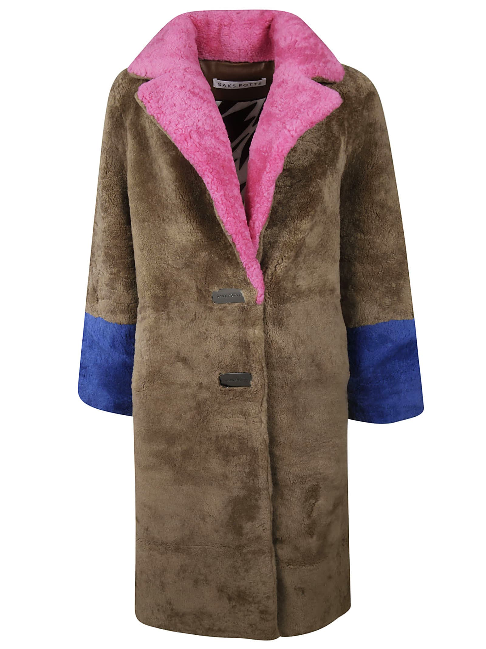 Saks Potts Fur Coat