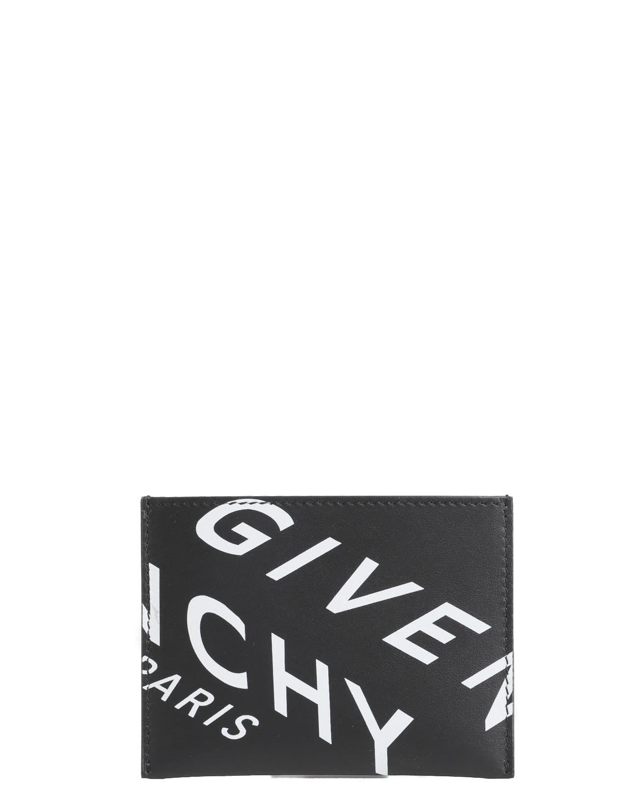GIVENCHY BLACK CARD HOLDER