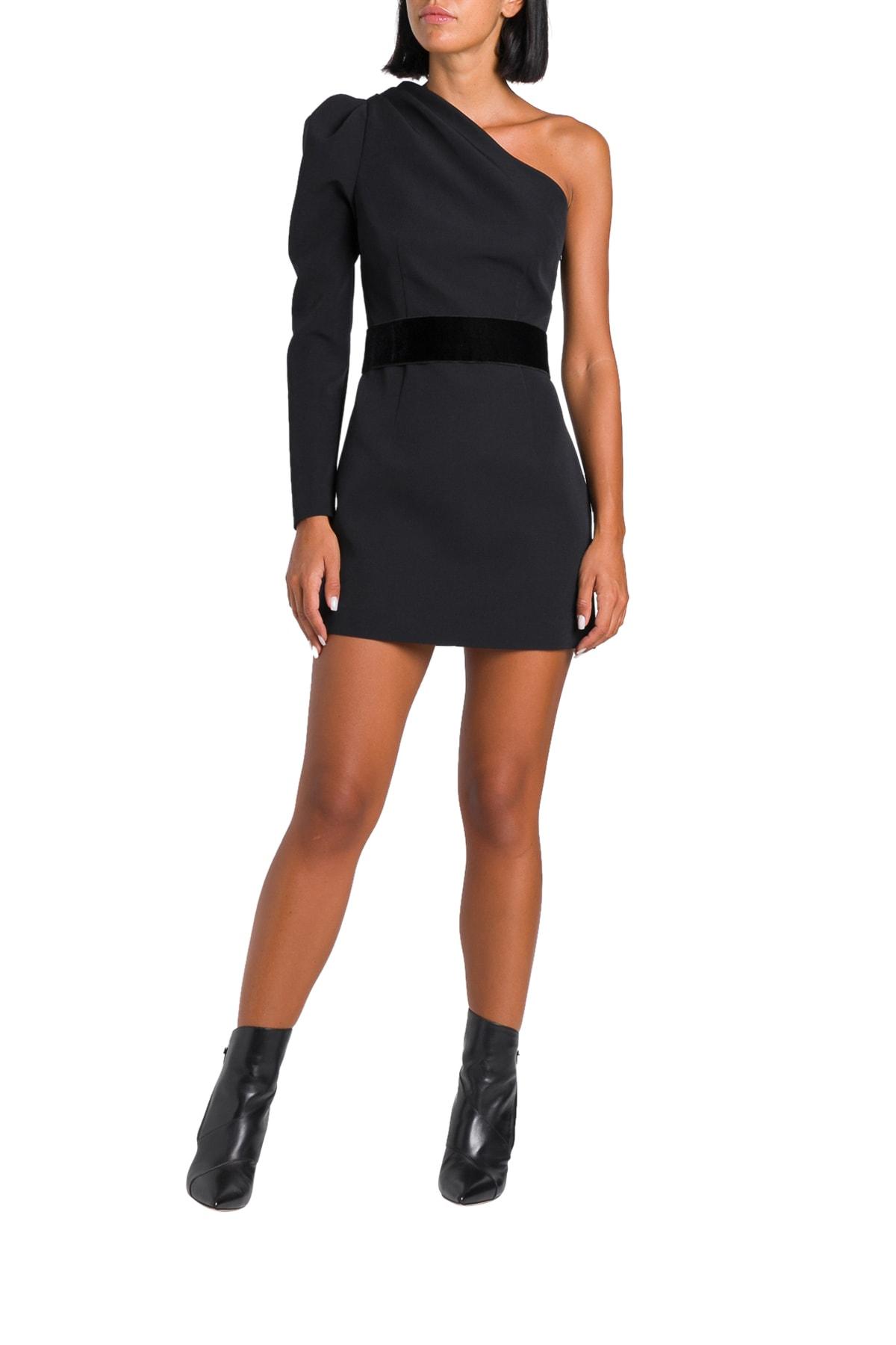 Parosh One-shoulder Short Dress