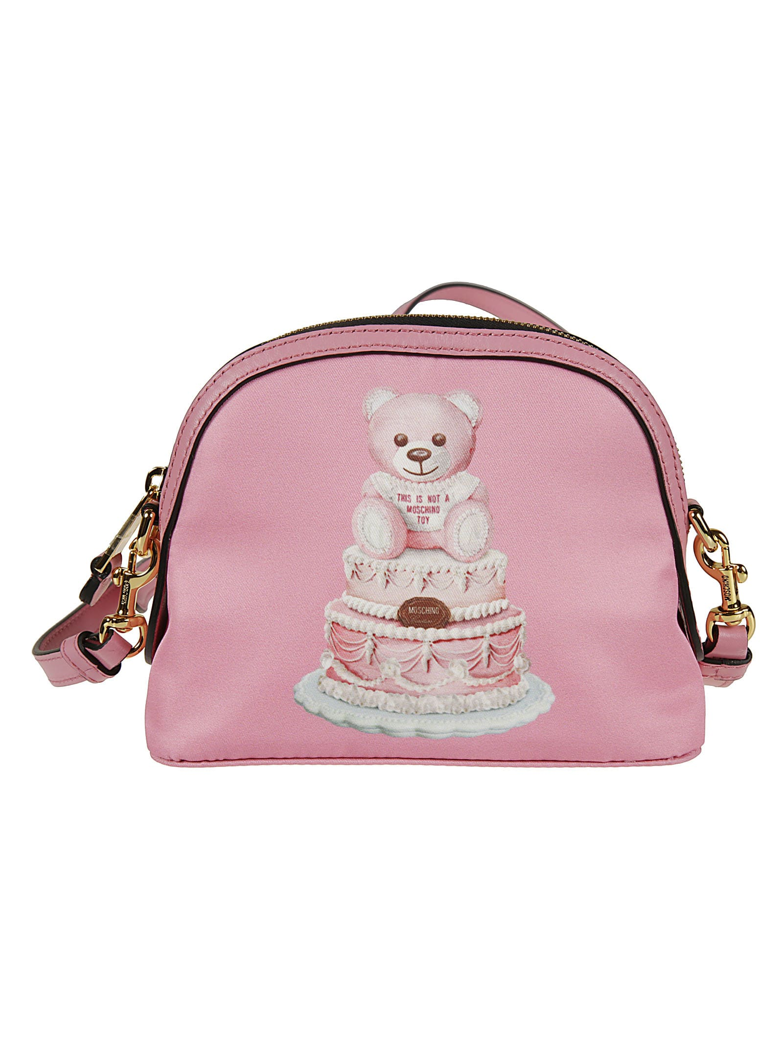 Moschino THIS IS NOT A TOY BEAR T-SHIRT SHOULDER BAG