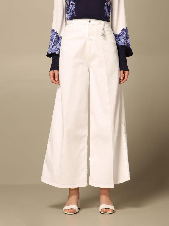 Pants Wide High-waisted