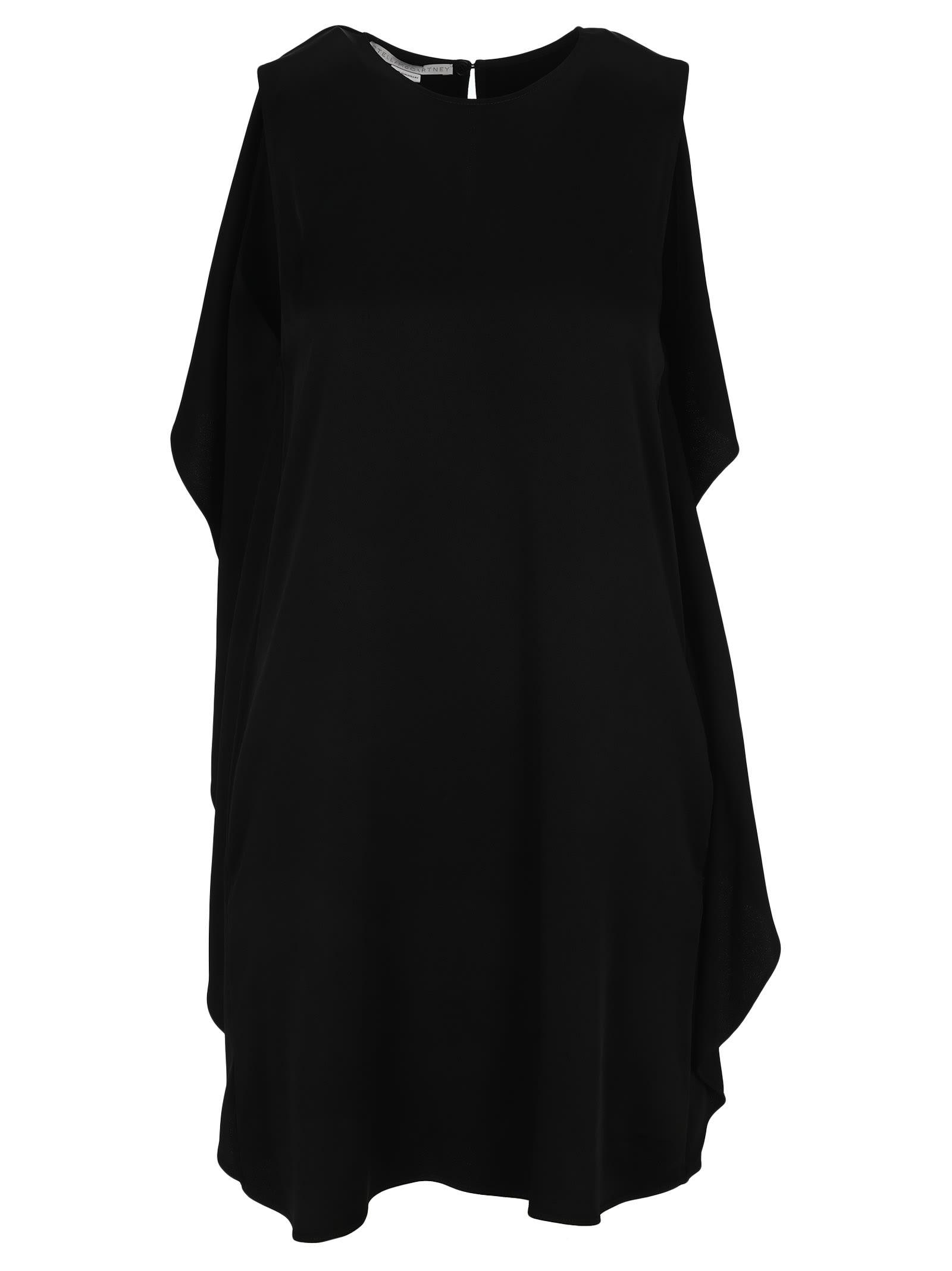 Buy Stella Mccartney Pleated Ruffles Short Dress online, shop Stella McCartney with free shipping
