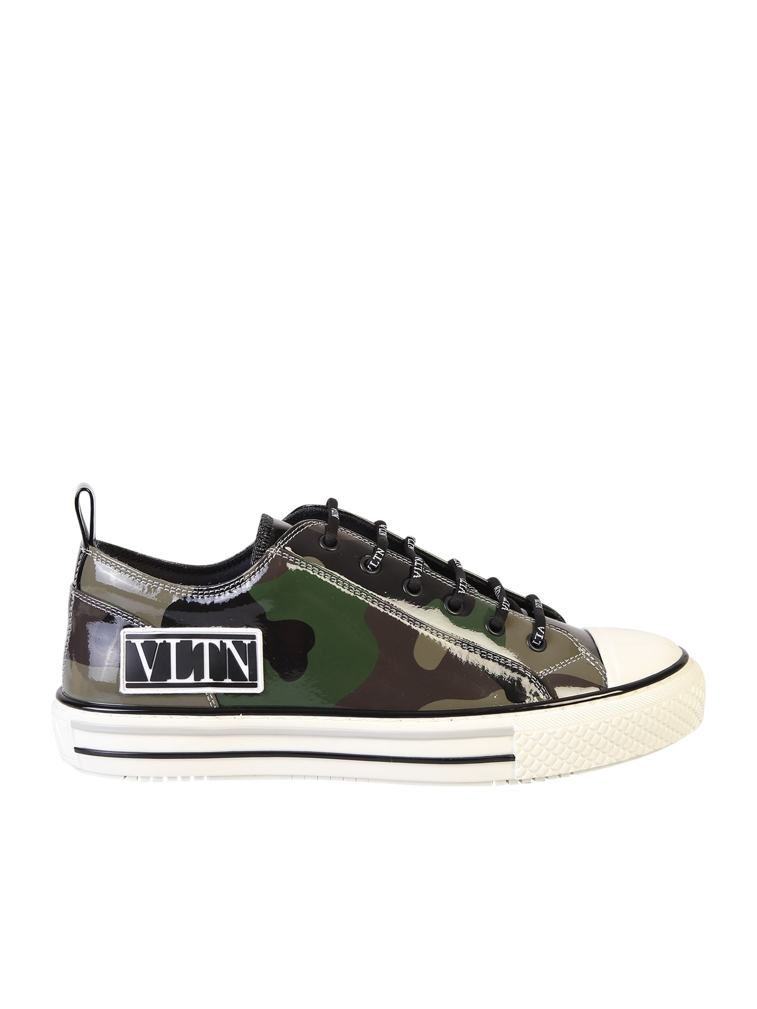 Valentino Garavani Camouflage Motif Sneakers
