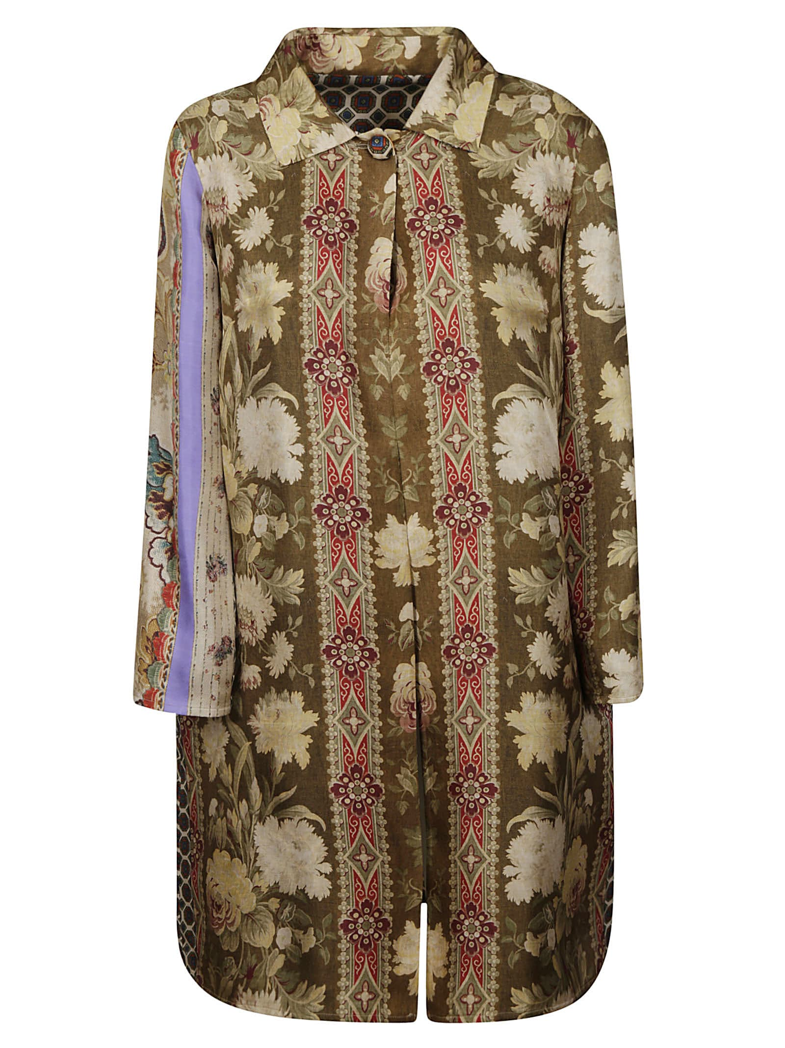 Buy Pierre-Louis Mascia Pattern Printed Shirt Dress online, shop Pierre-Louis Mascia with free shipping