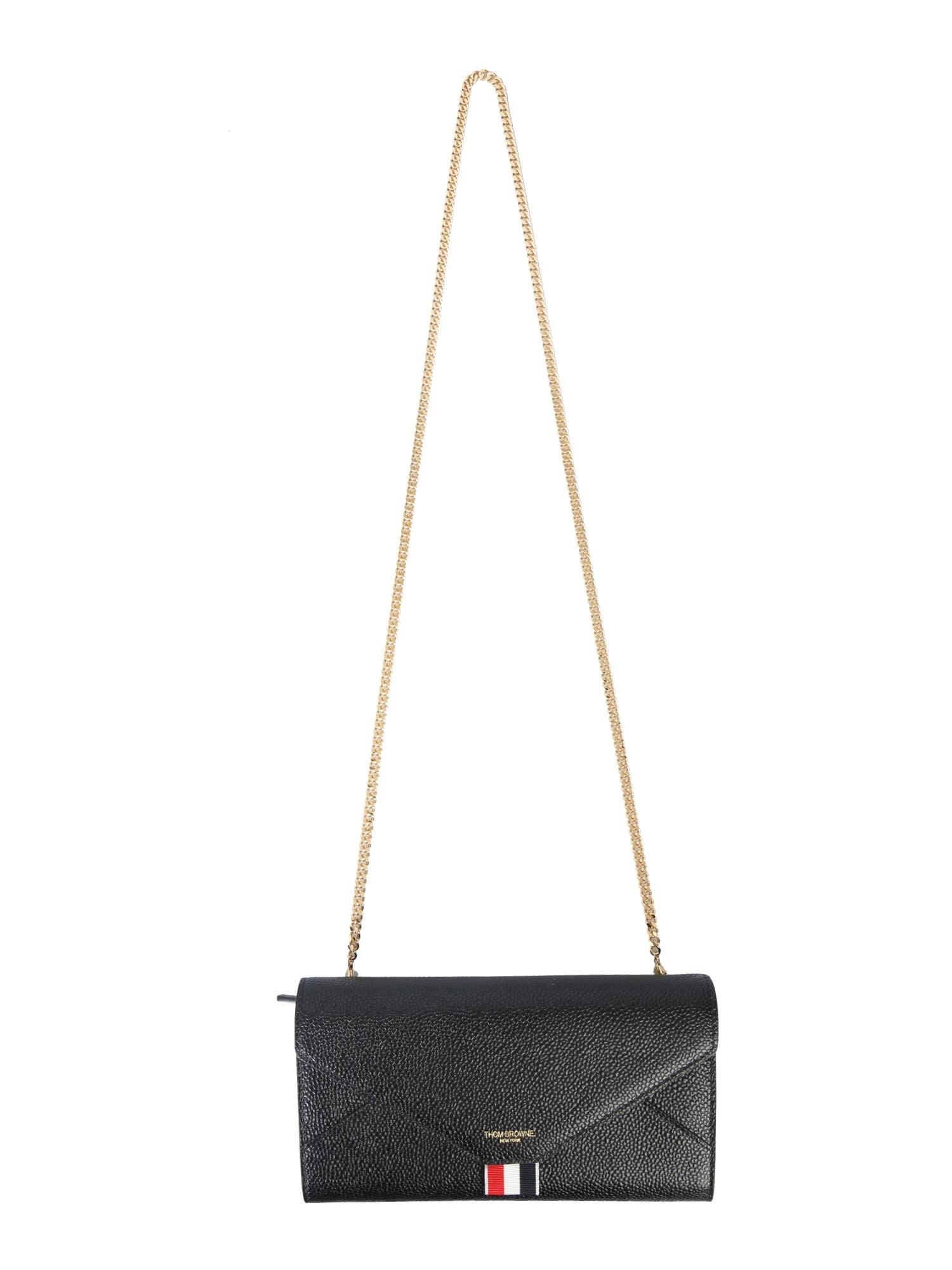 Thom Browne Wallet With Shoulder Strap