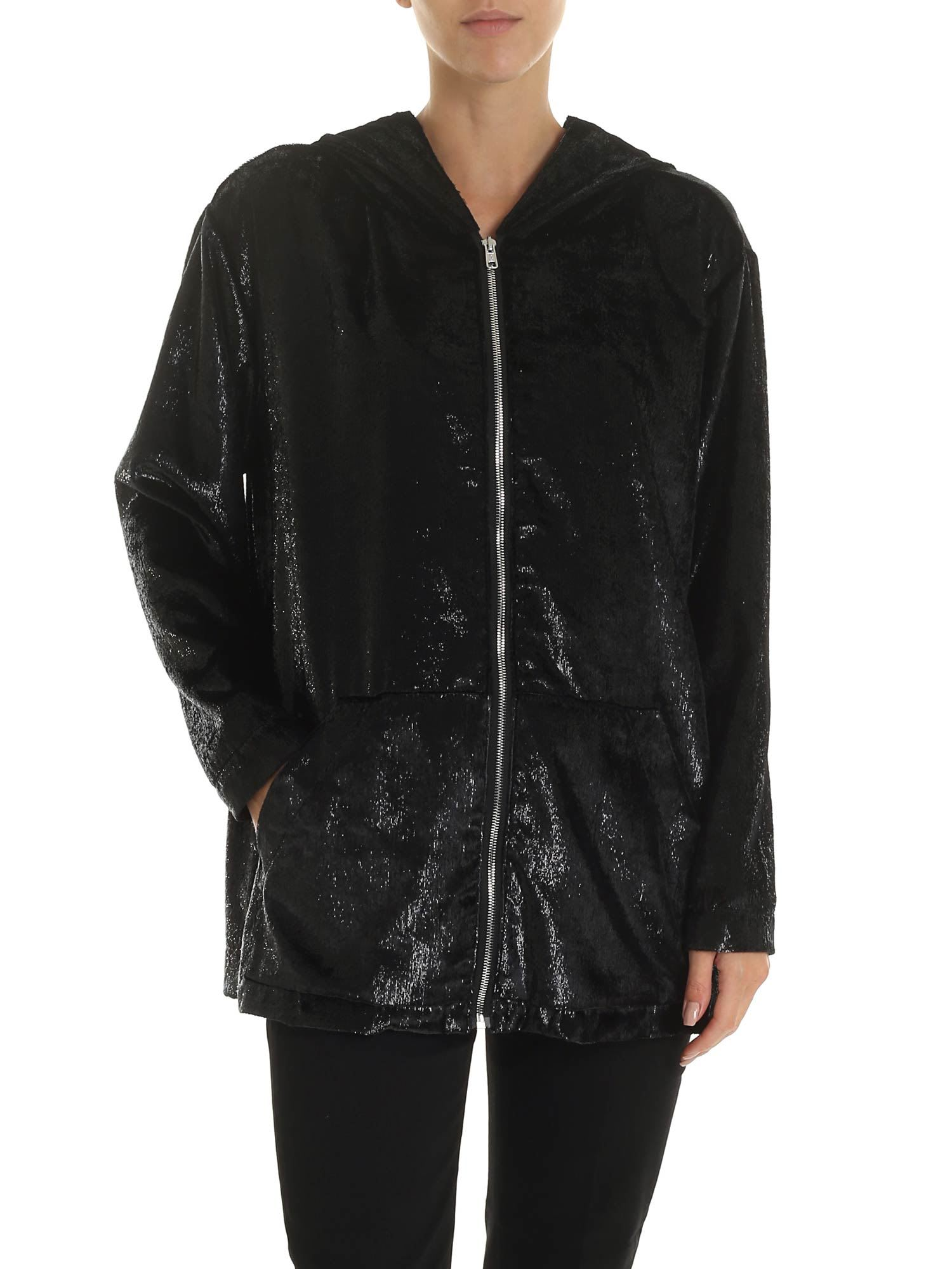 Love Moschino Black Lurex Jacket