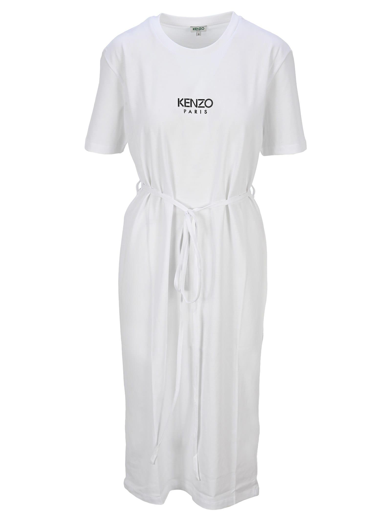 Buy Kenzo Kenzo Logo T-shirt Dress online, shop Kenzo with free shipping