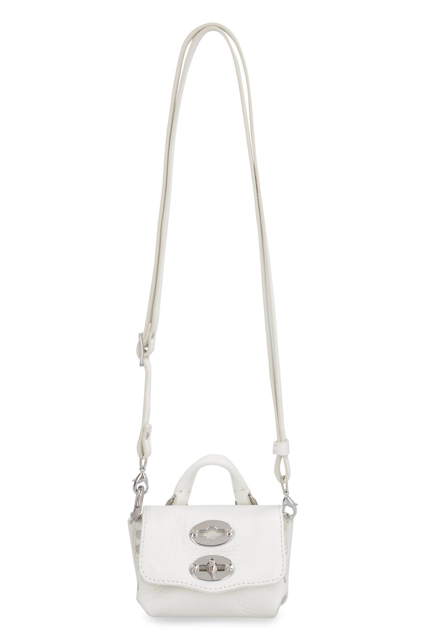 Zanellato Postina Mini Leather Crossbody Bag
