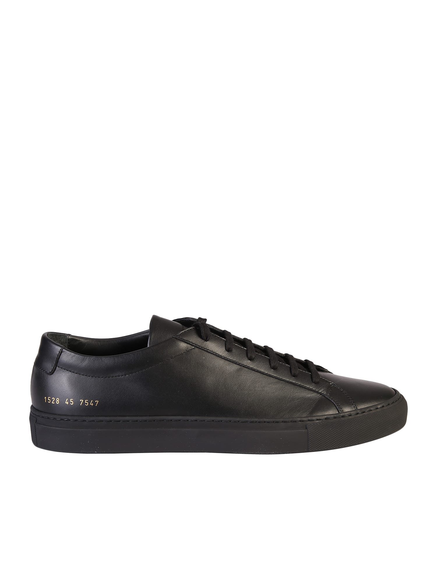 Common Projects BLACK SNEAKERS