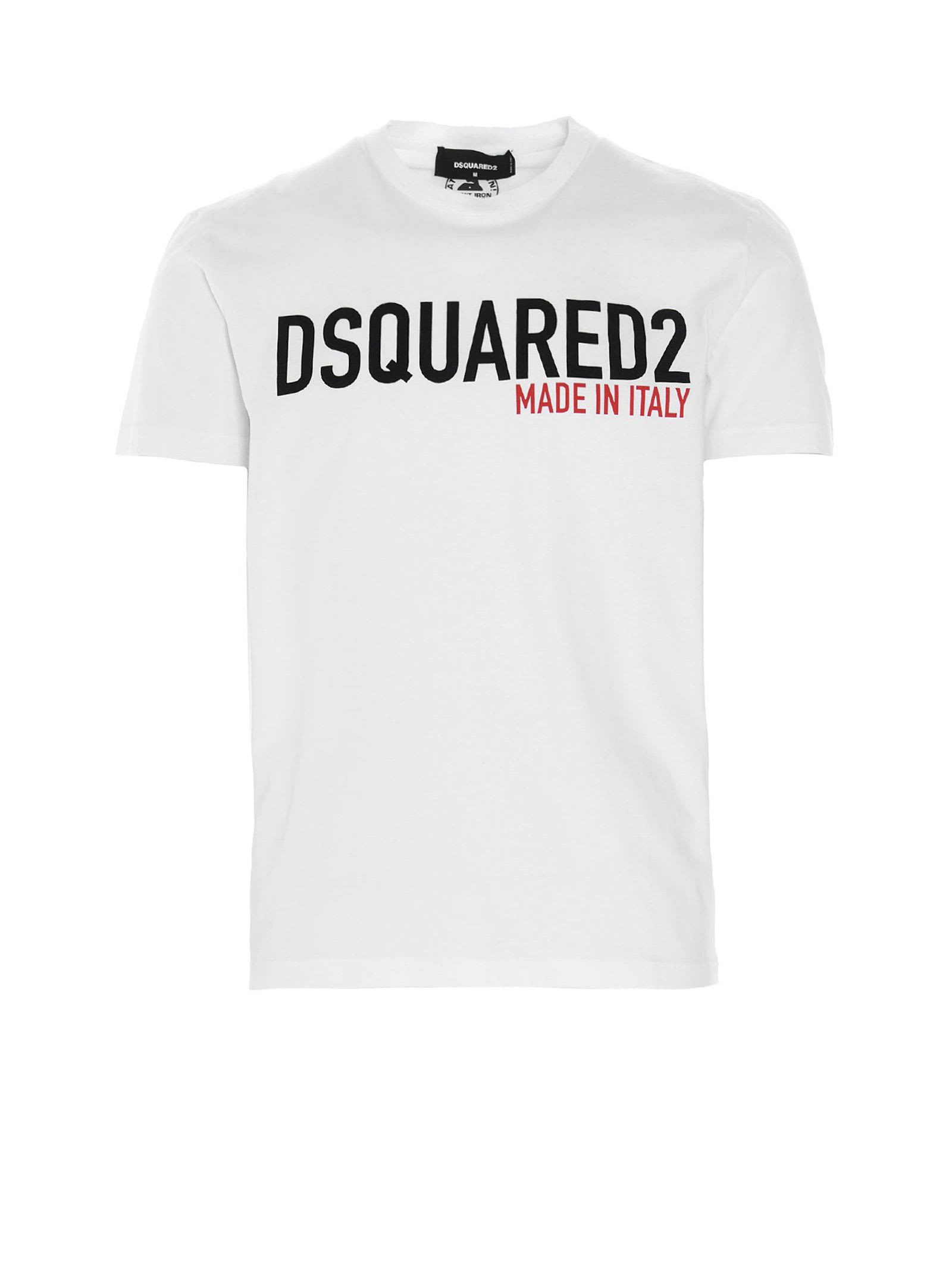 Dsquared2 DSQUARED WHITE T-SHIRT