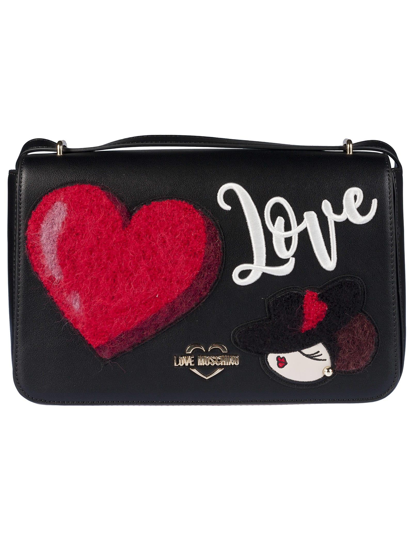 sale retailer 842a2 071a7 Love Moschino Foldover Shoulder Bag