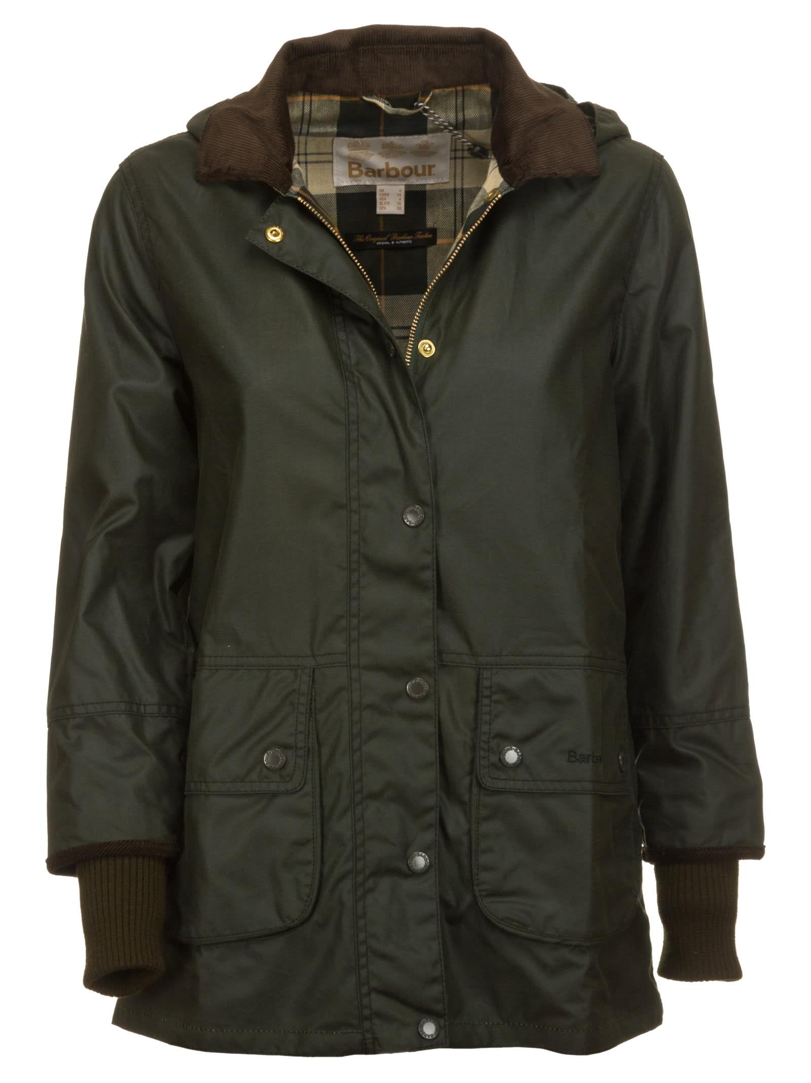 Barbour Lady Ba Pine Martin Wax Jacket