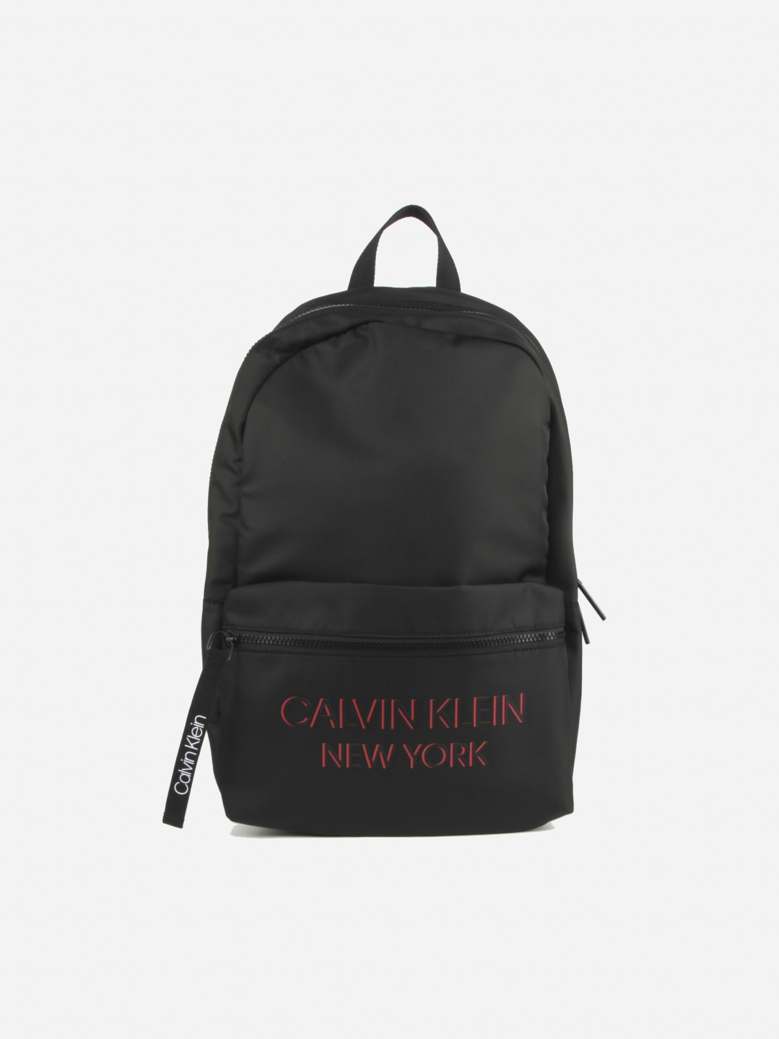 Calvin Klein BACKPACK WITH CONTRASTING PRINT