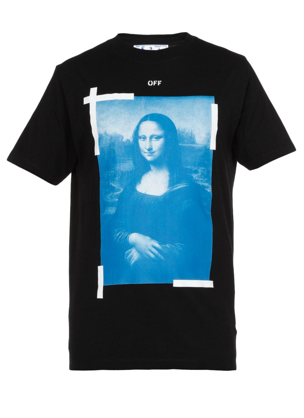 Off-White Blue Monnalisa T-shirt