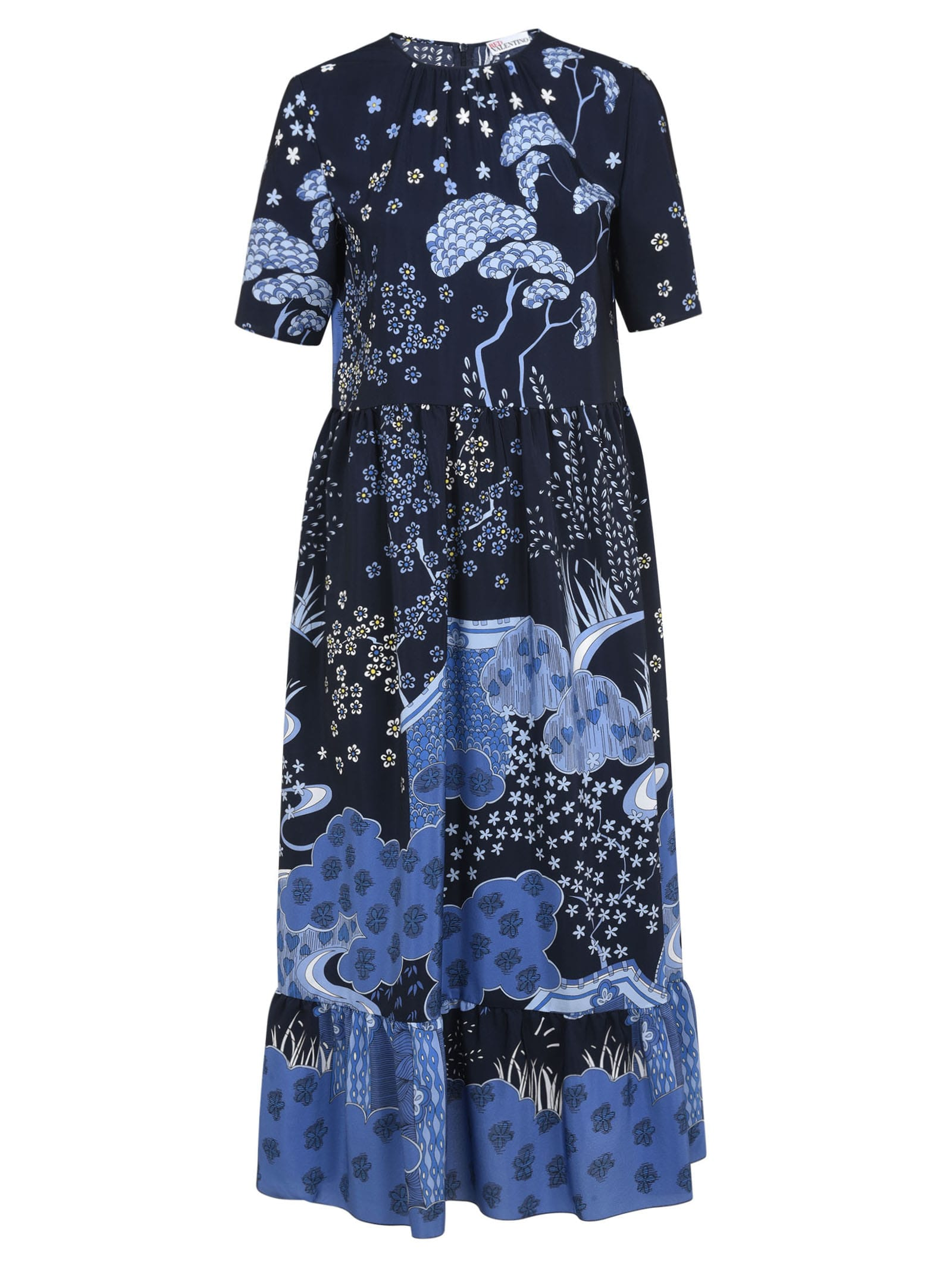 Buy RED Valentino All-over Printed Dress online, shop RED Valentino with free shipping