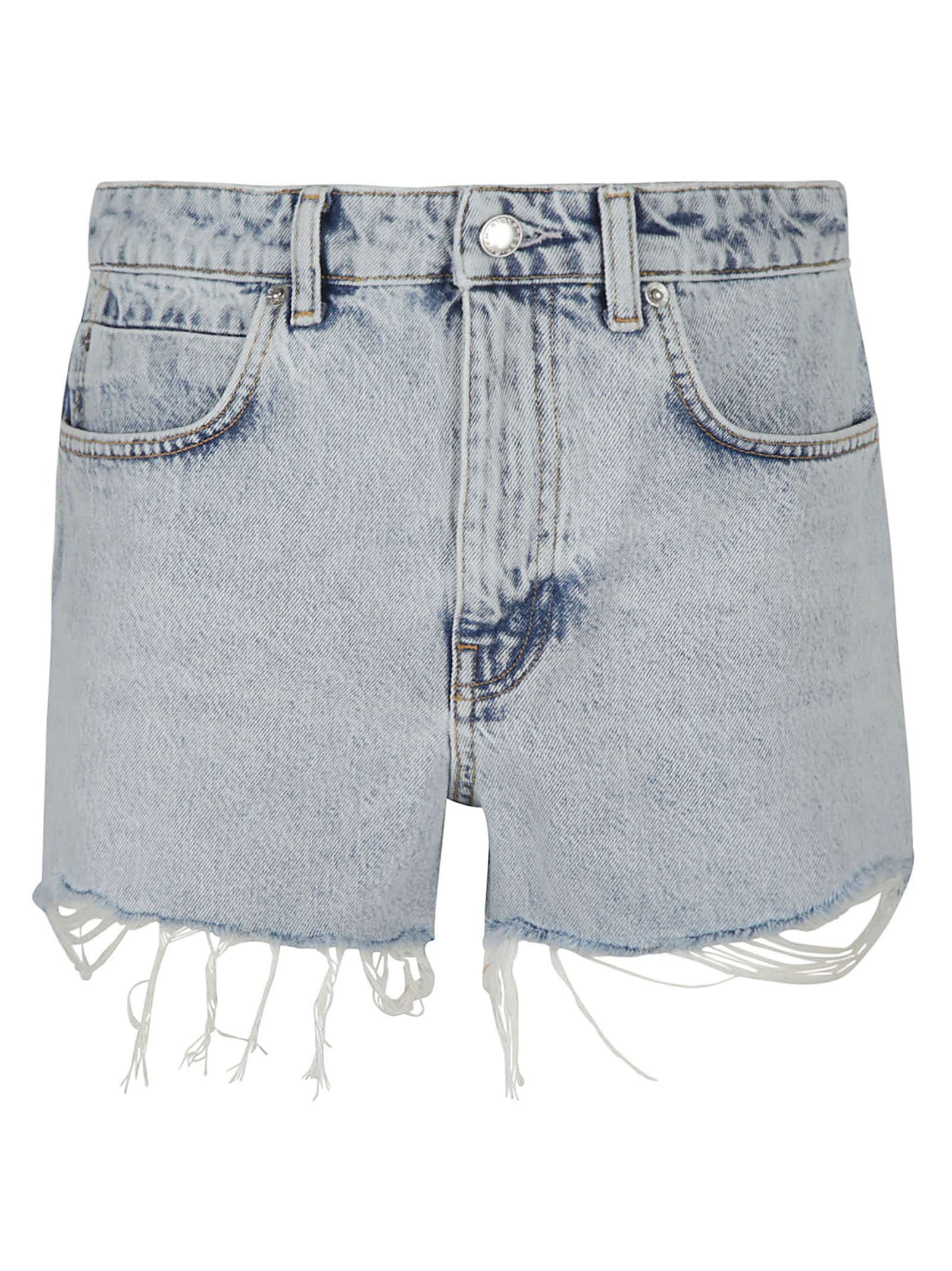 Alexander Wang High Waist Shorts