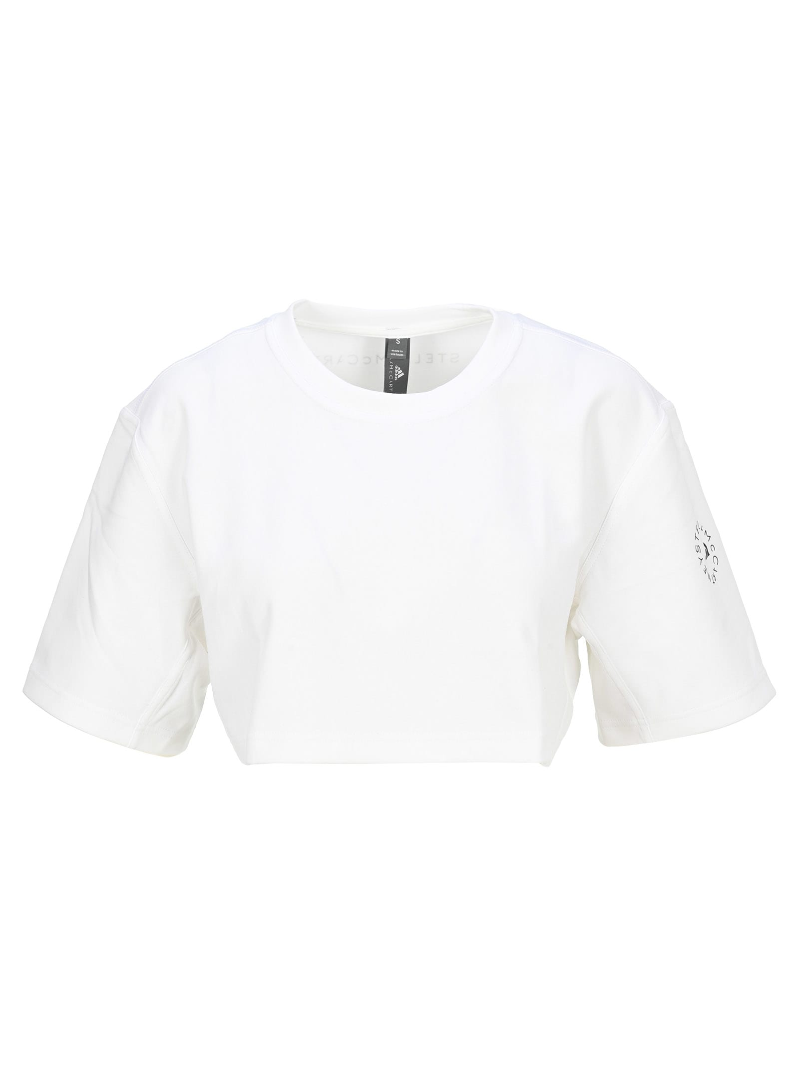 Adidas By Stella Mccartney ADIDAS BY STELLA MCCARTNEY TSHIRT CROP