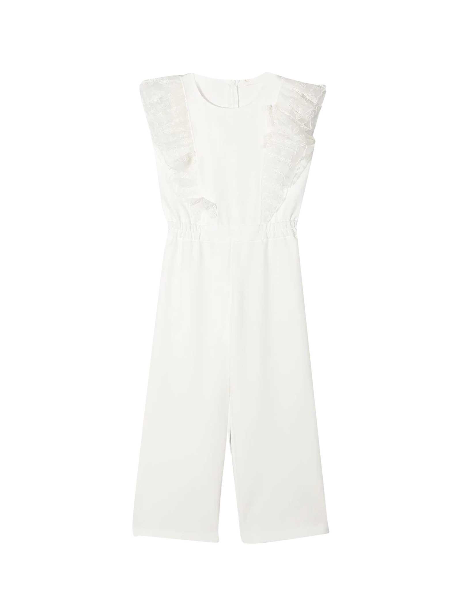 Monnalisa Monnalisa White Suit