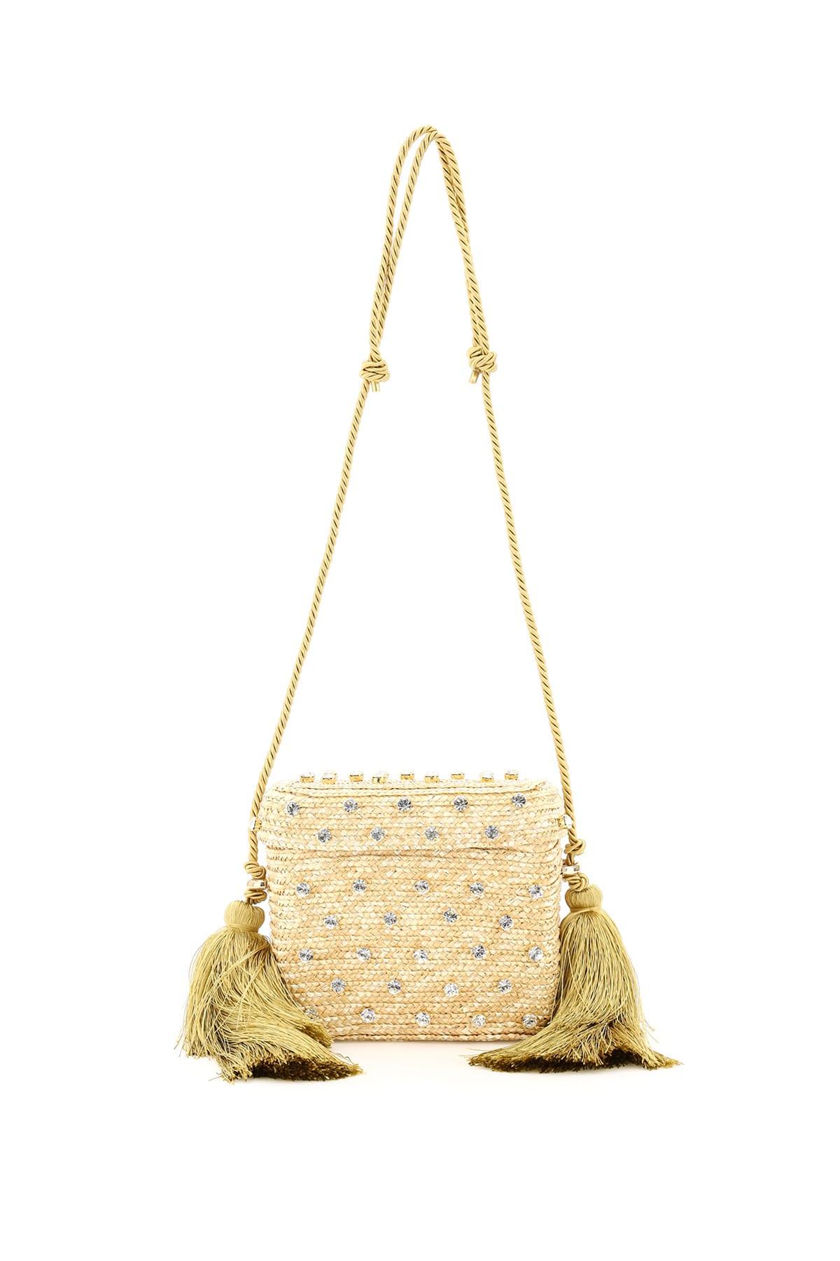 Carol Basket Bag Bx-00030 Crystal Natural