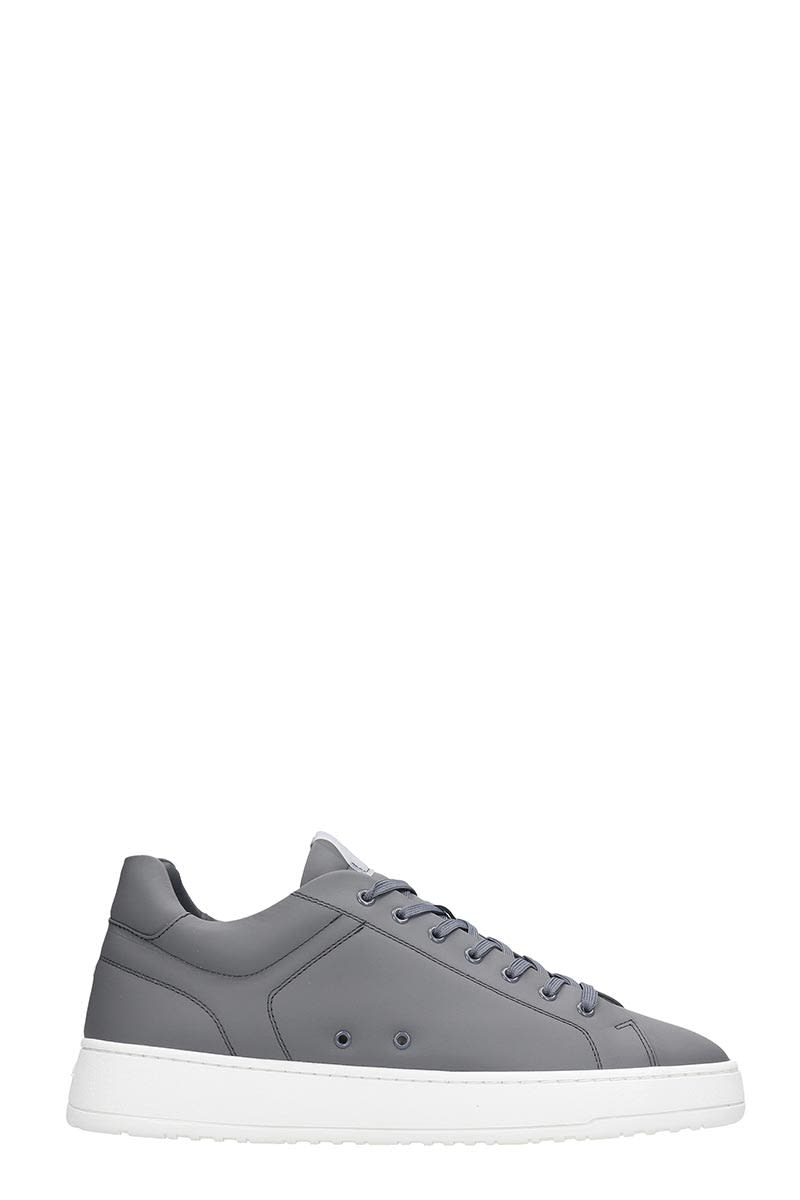 Etq Etq Lt 04 Sneakers In Grey Rubber