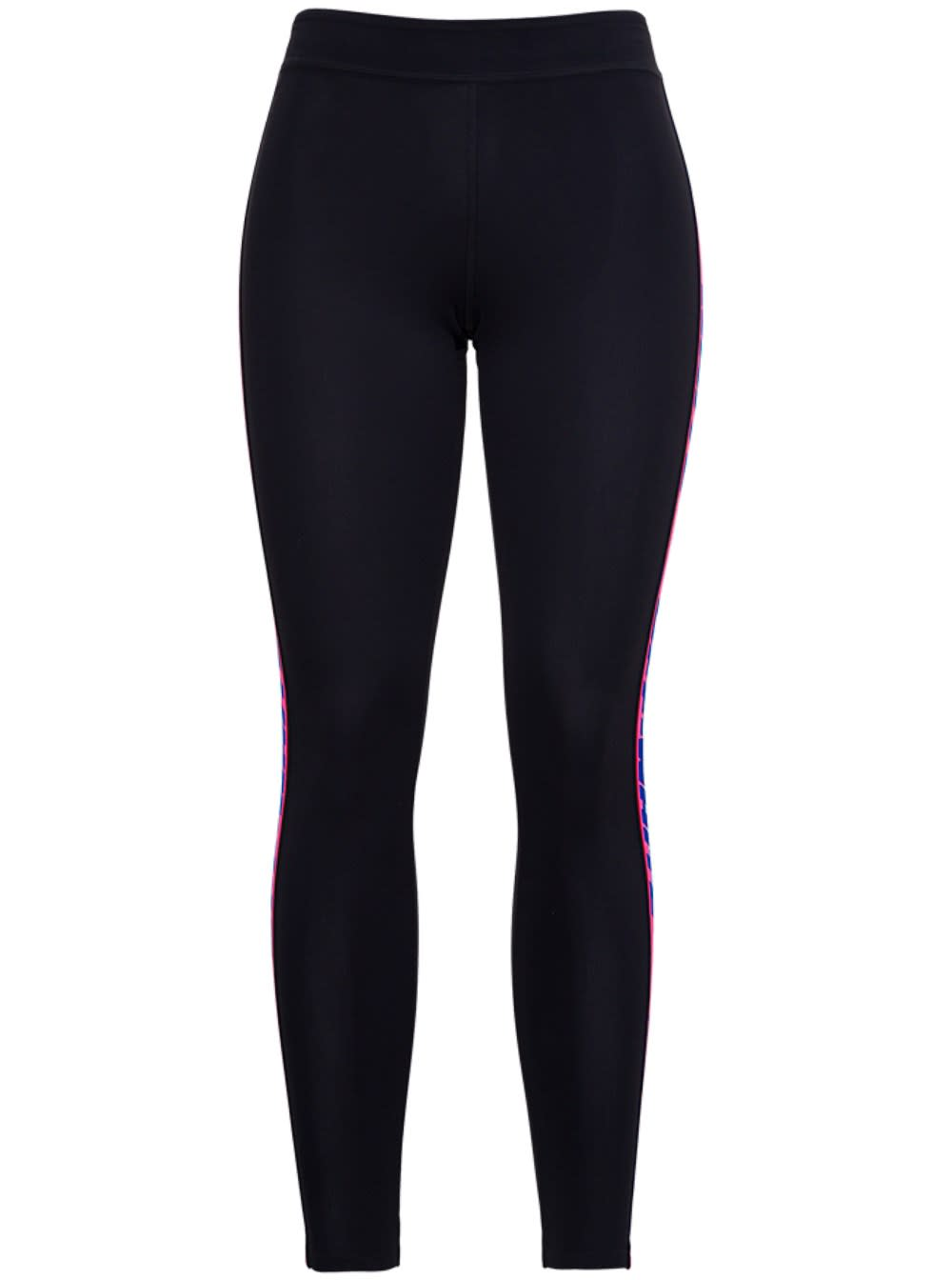 Off-White Leggings ATHLEISURE LEGGINGS WITH SIDE LOGO BANDS