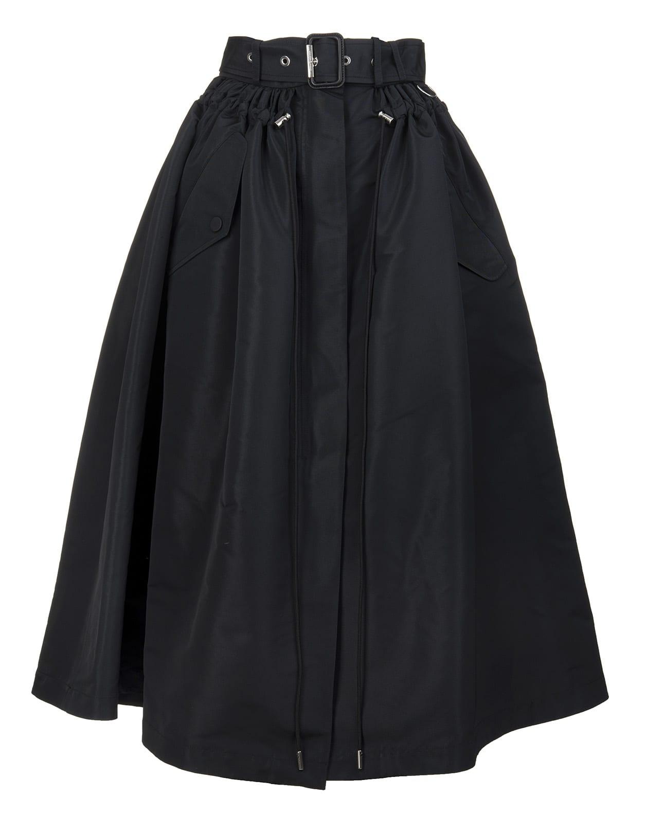 Alexander Mcqueen Skirts BLACK PARKA SKIRT