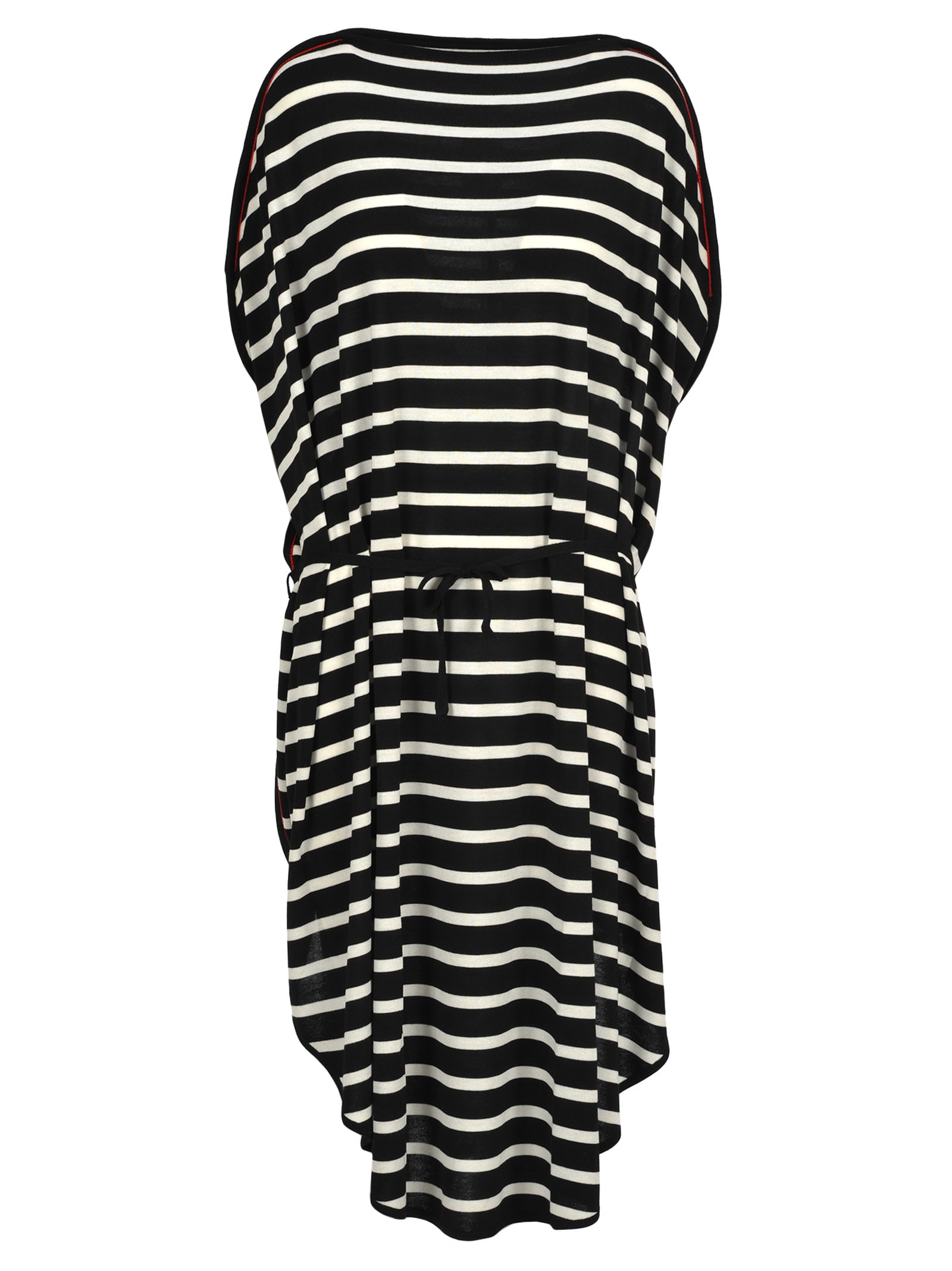 Mm6 Mm6 Oversized Striped Dress