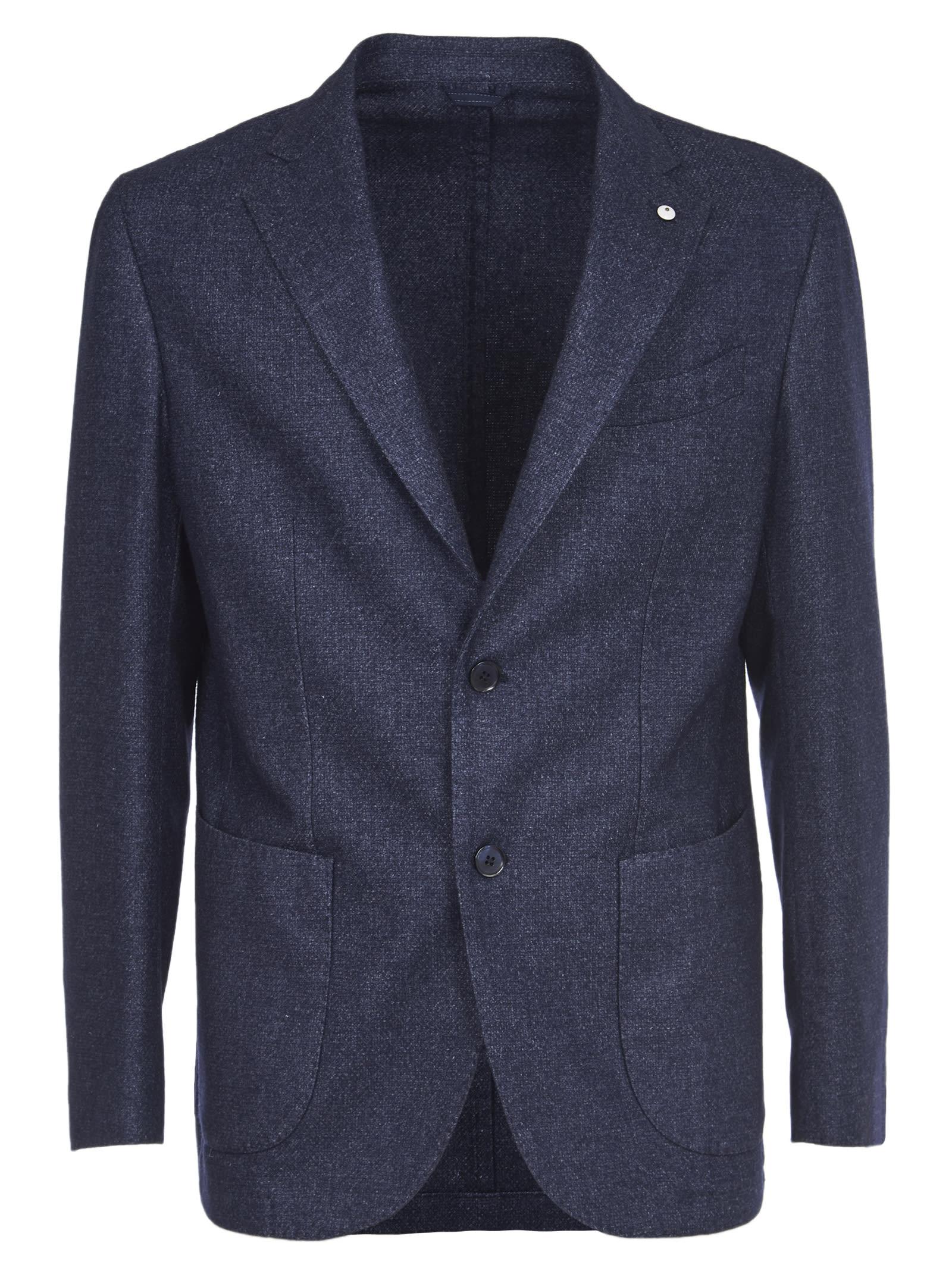 1911 Blue Wool Jacket