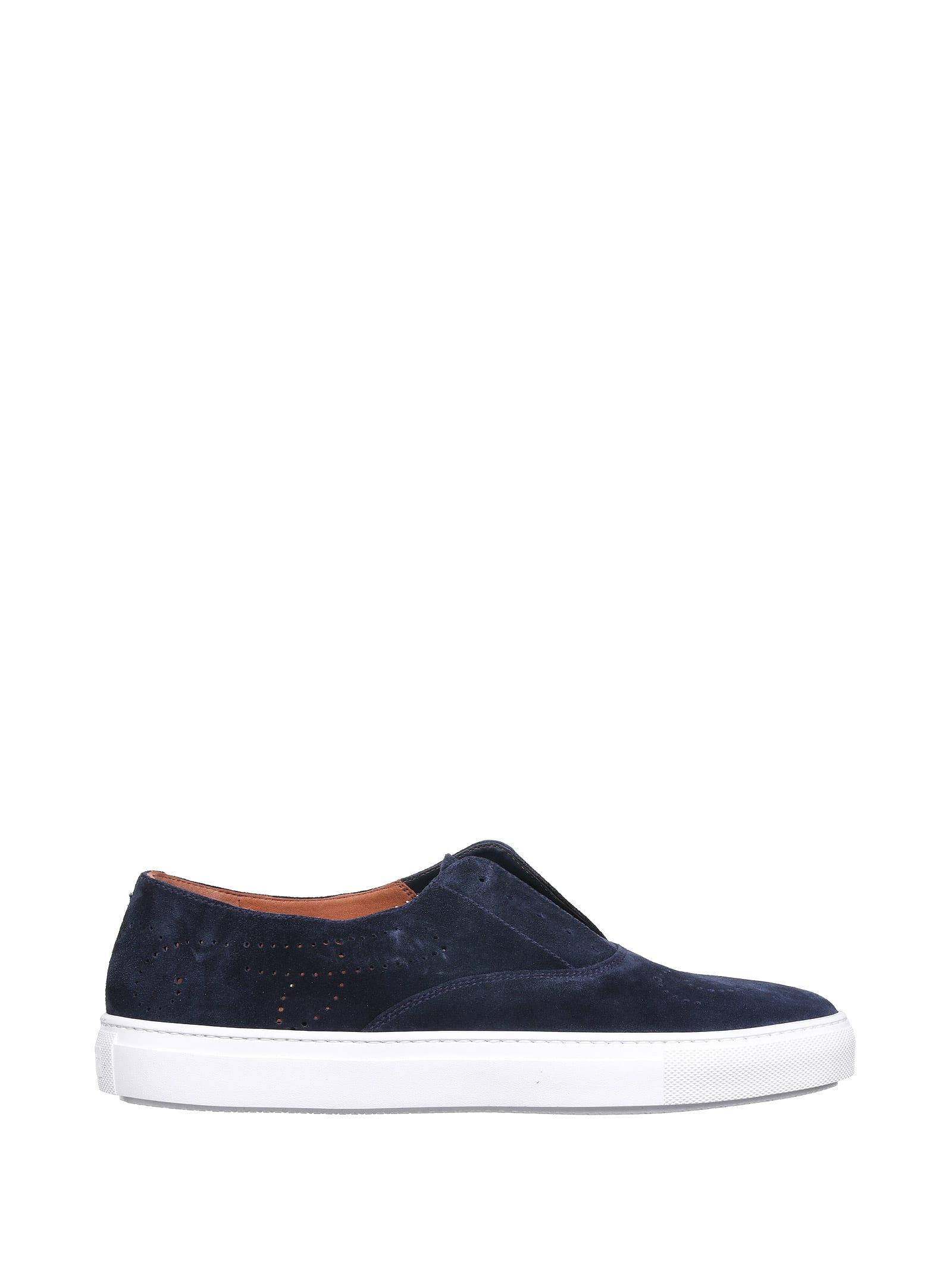 Fratelli Rossetti Blue Sneakers