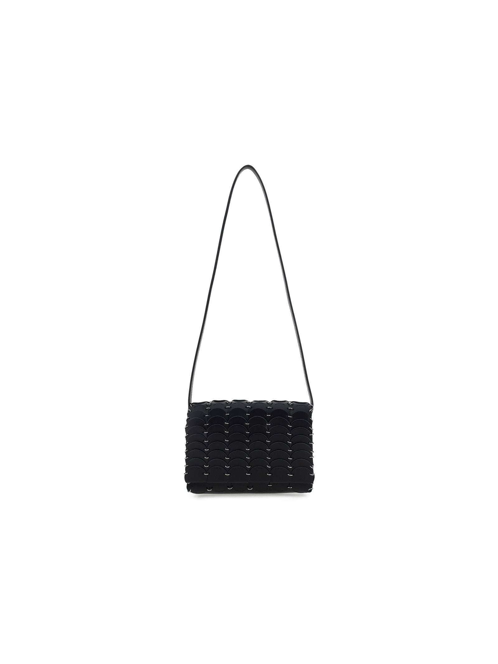 Paco Rabanne Pacoio Shoulder Bag In Black