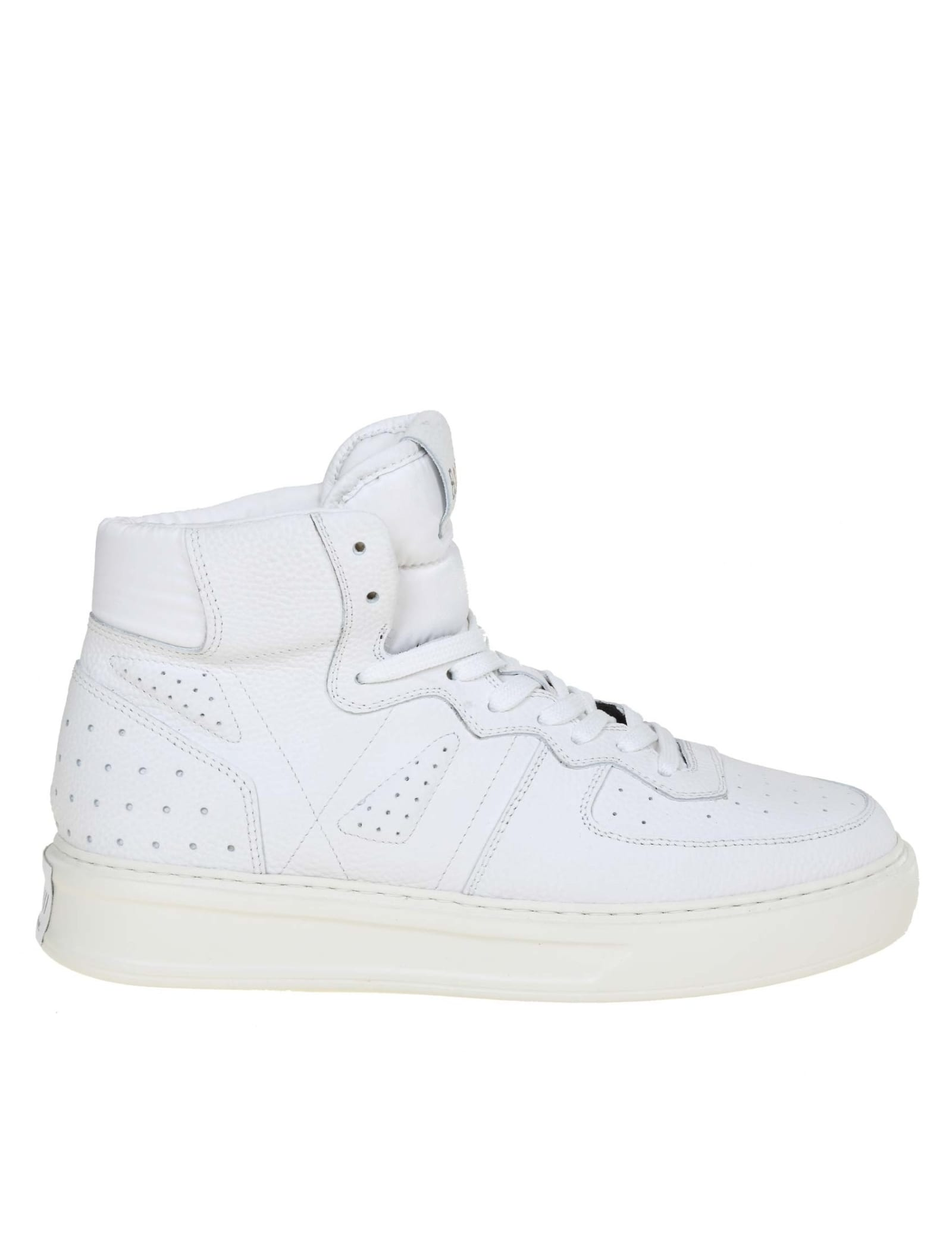 Phoenix Sneakers In White Leather