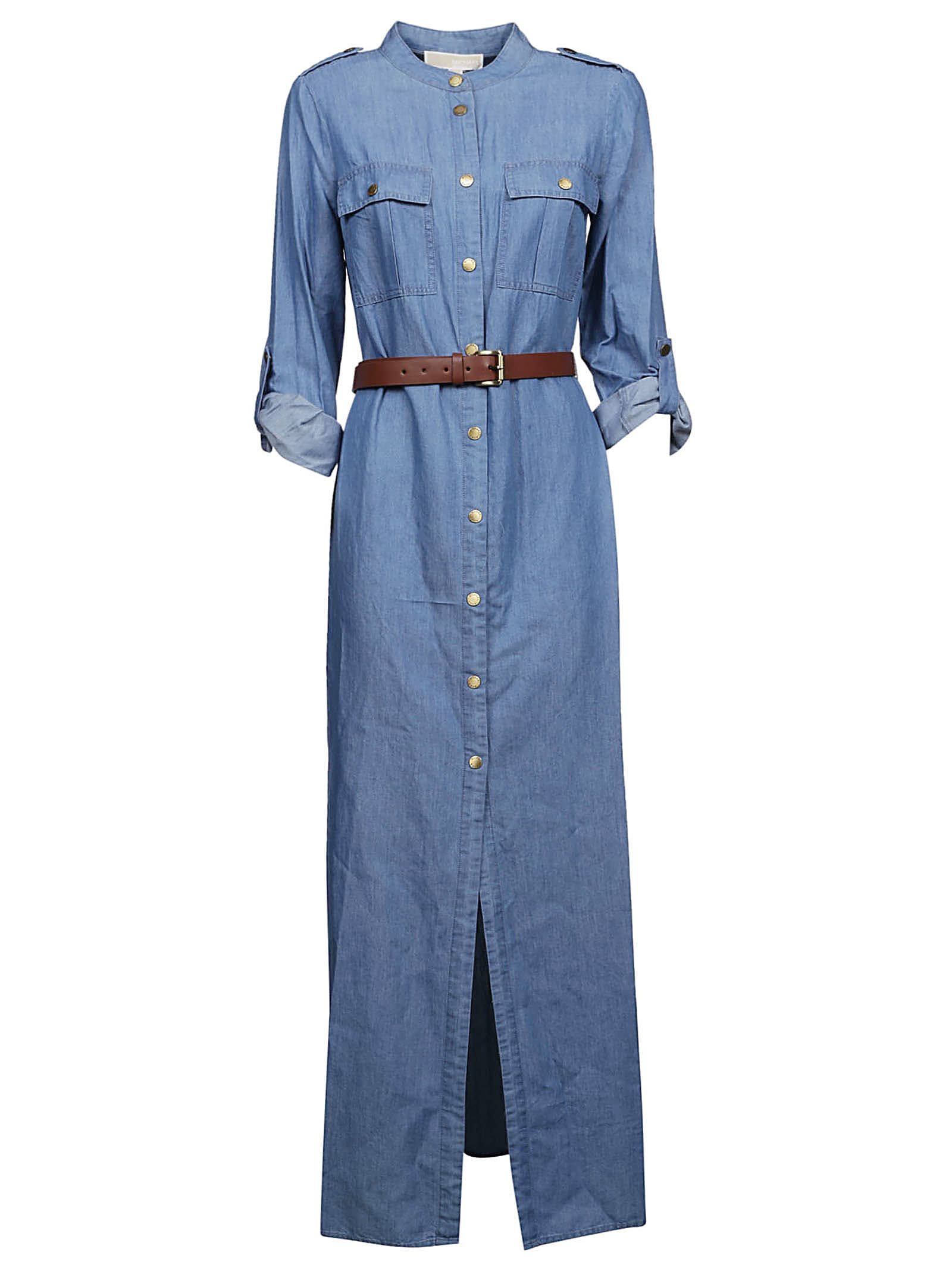 Michael Kors Denim Maxi Dress
