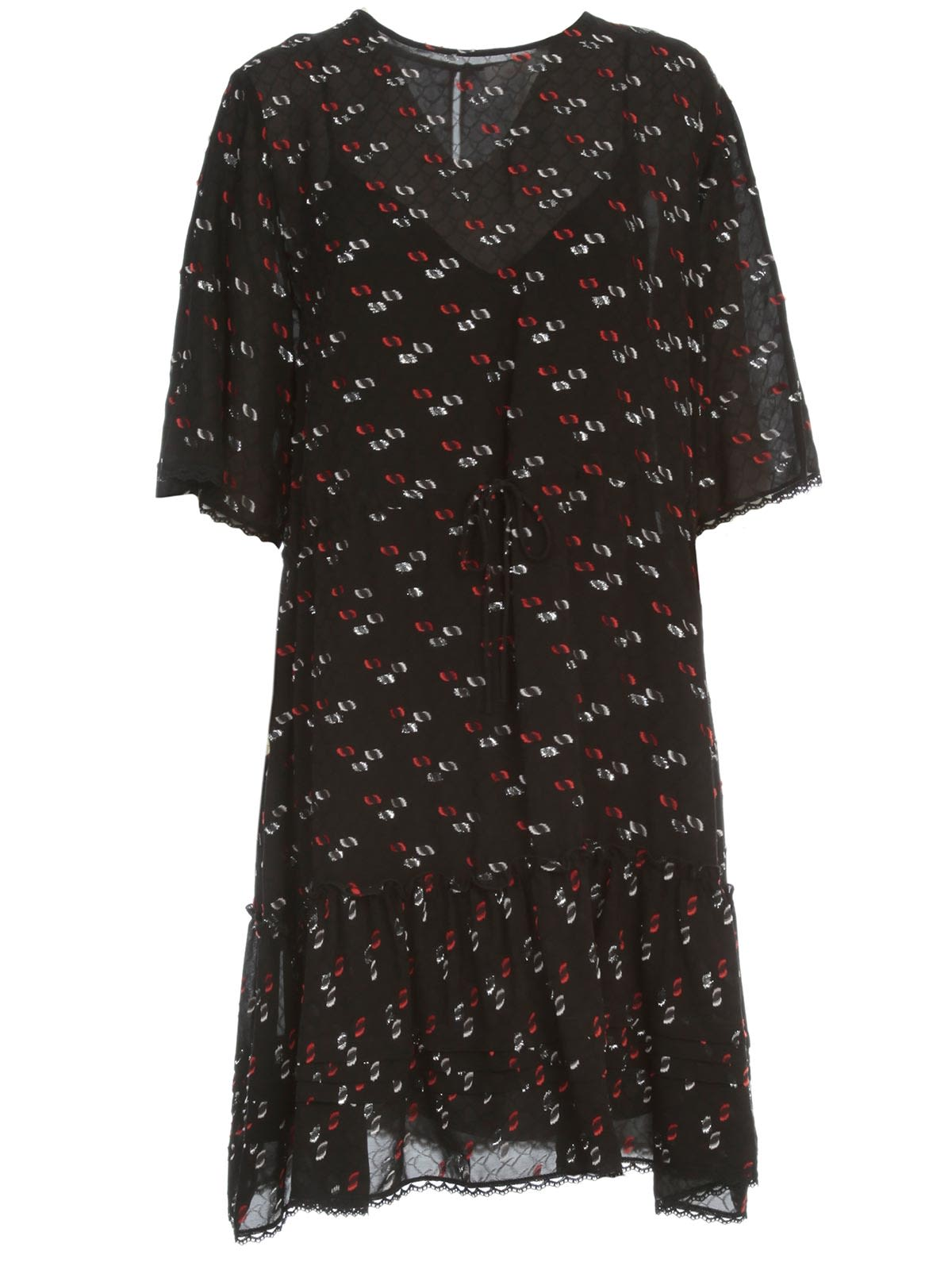 Buy See by Chloé Dress 3/4s Crew Neck Multi online, shop See by Chloé with free shipping