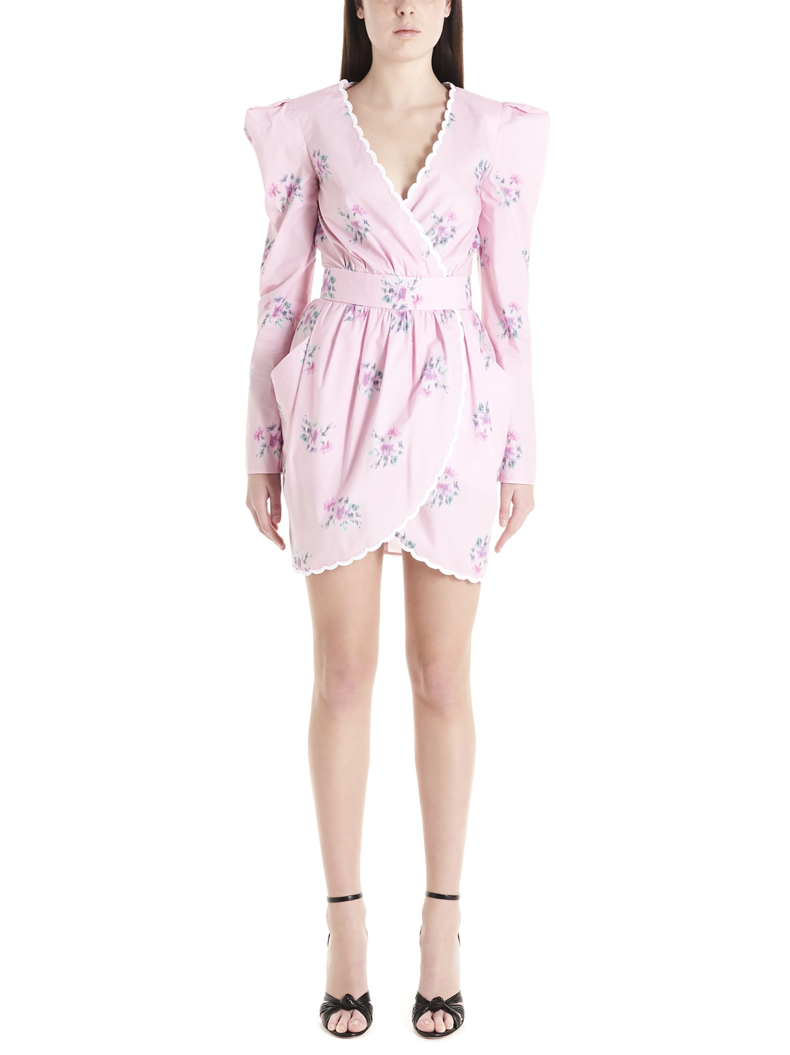 Buy Philosophy Di Lorenzo Serafini fantasy Prink Dress online, shop Philosophy di Lorenzo Serafini with free shipping